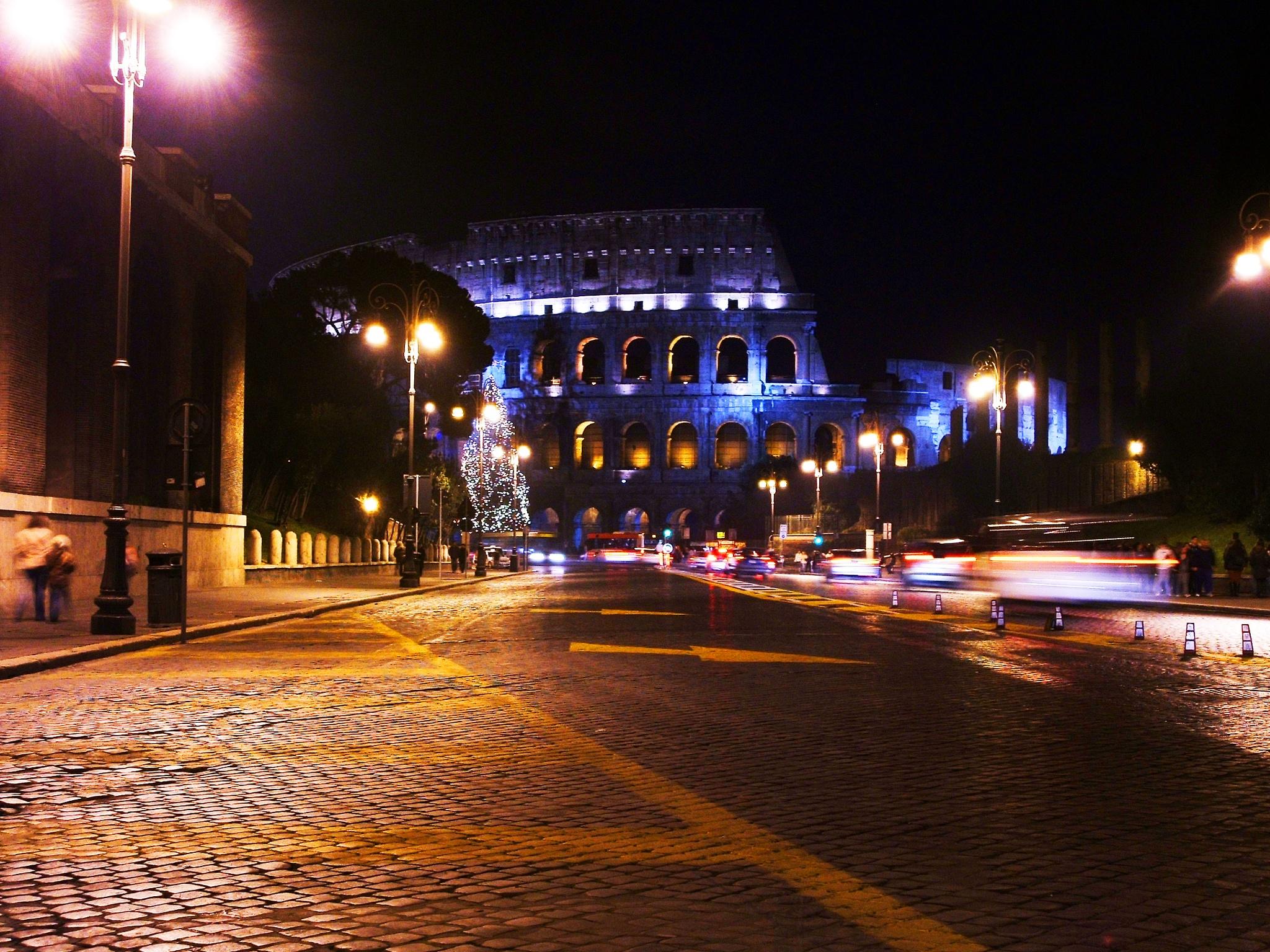 Colosseo by nigth by rafa00