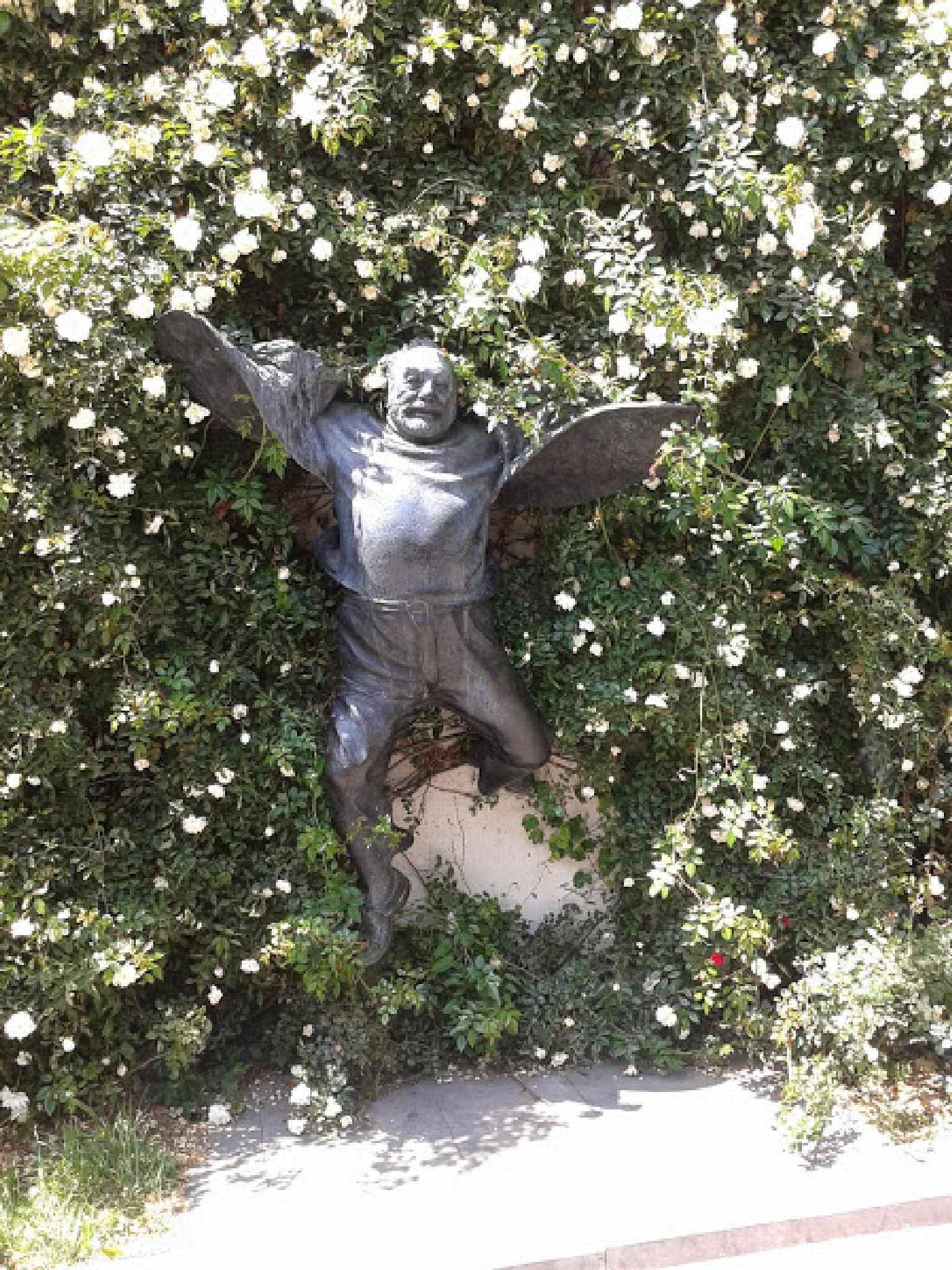 He flies! Parajanov. Tbilisi. by MilaDy