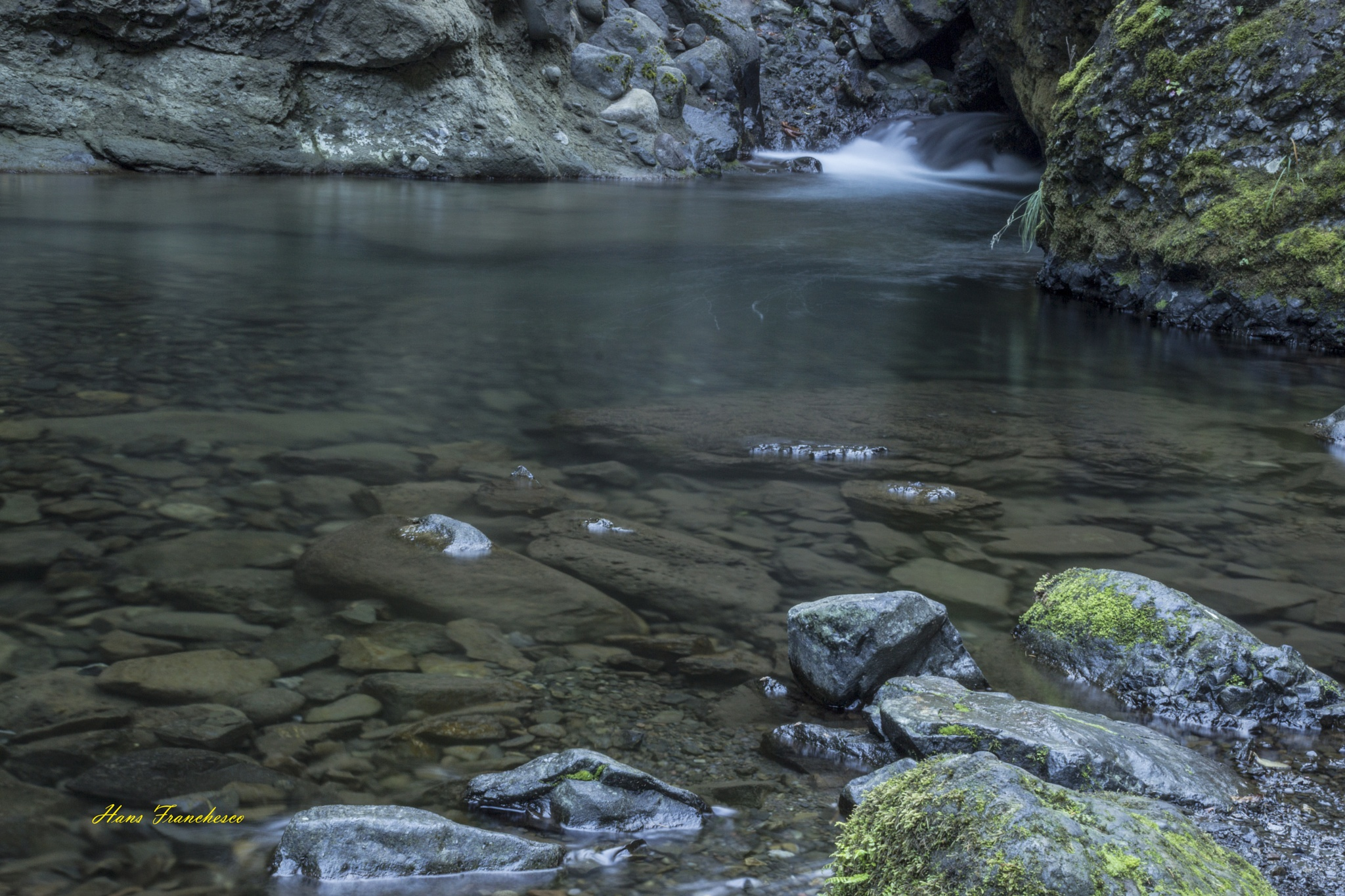 Rock pool by Hans Franchesco