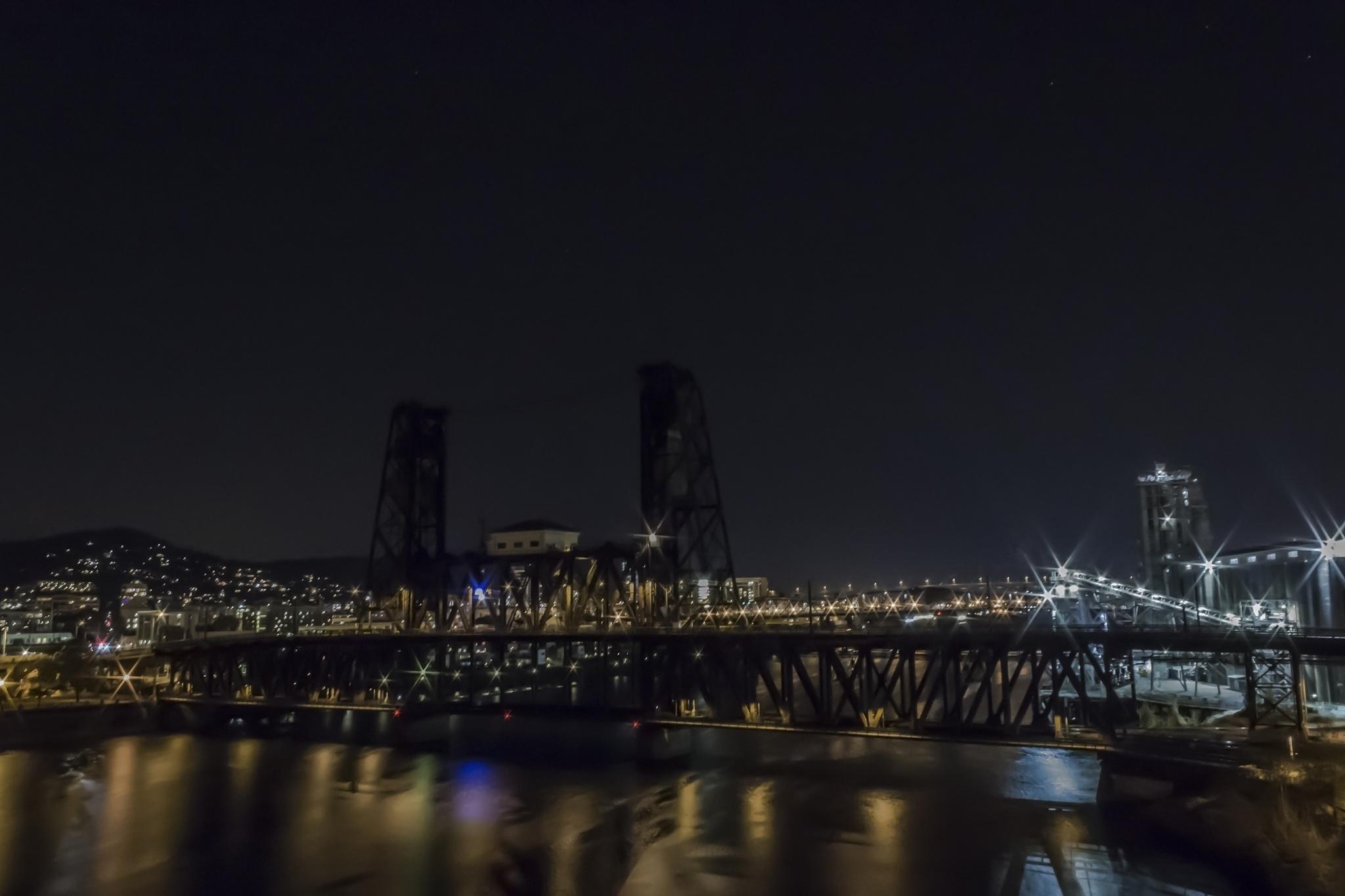 The Steel Bridge by Hans Franchesco
