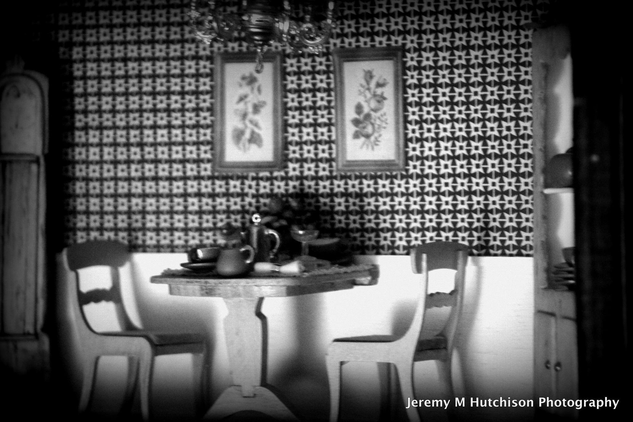 Shadow Box Dollhouse Kitchen by Jeremy M Hutchison