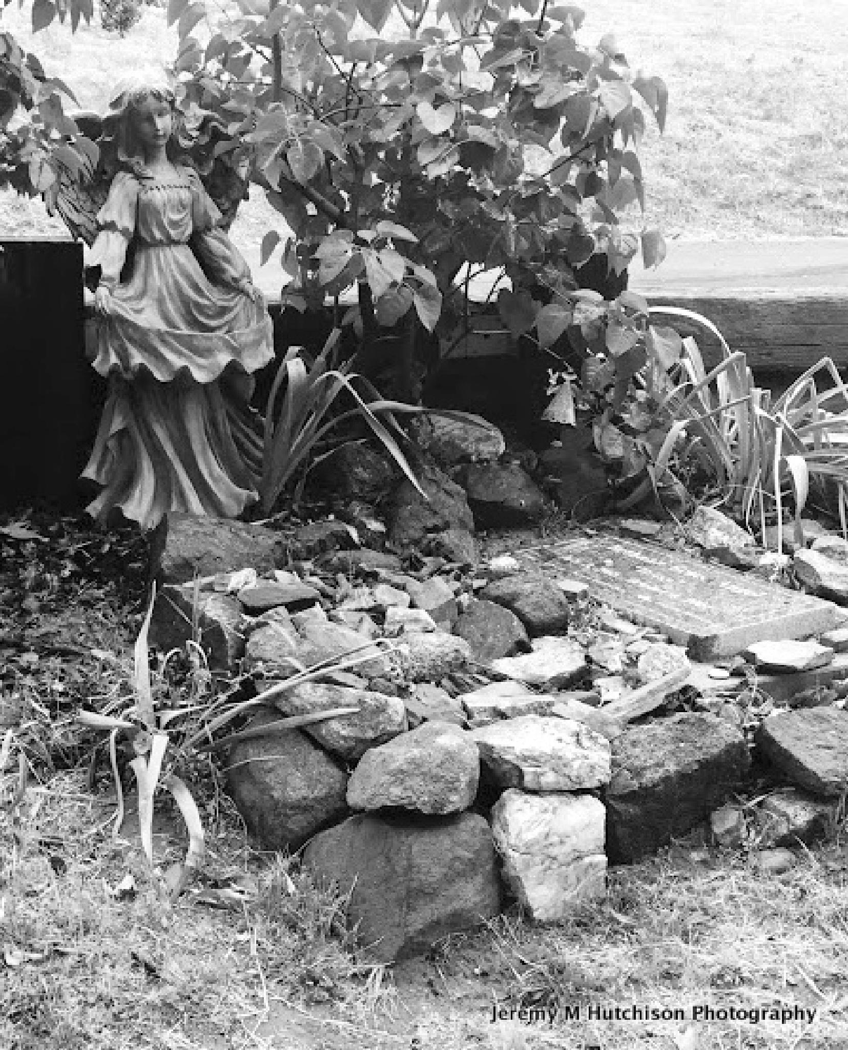 A child's grave by Jeremy M Hutchison
