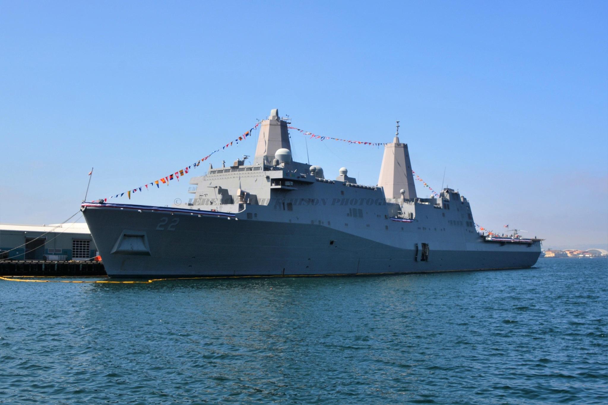 USS San Diego San Diego Feet week by Jeremy M Hutchison