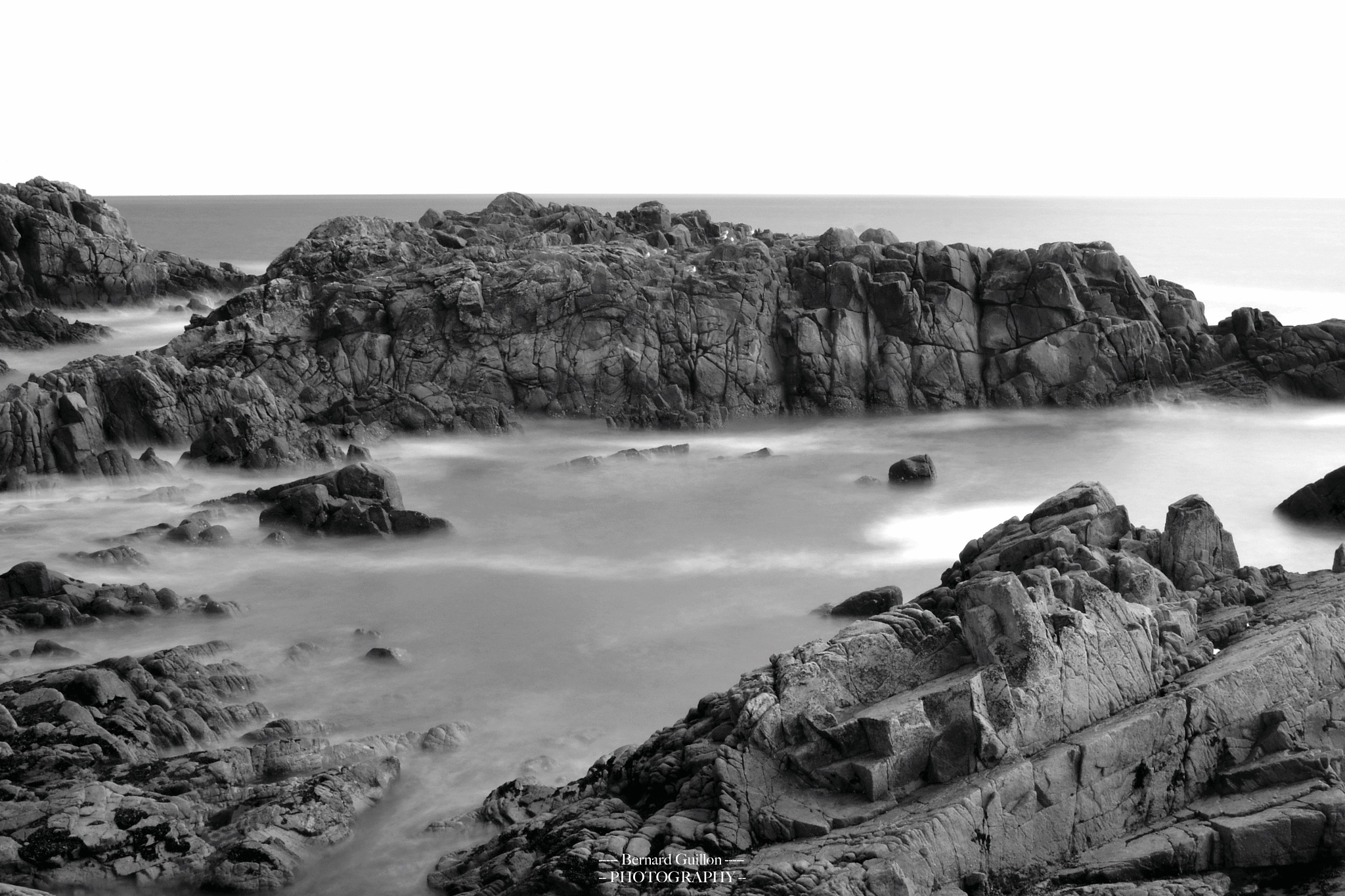 The wild coast of Brittany by Bernard Guillon