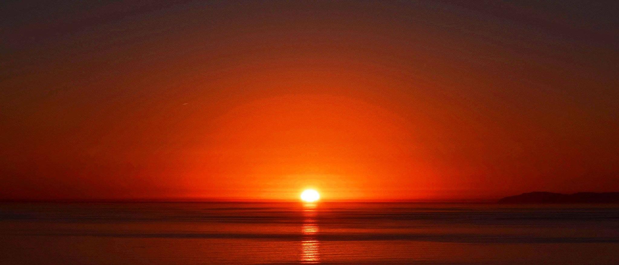 Tangerine Sunset San Clemente by MarthaHerman