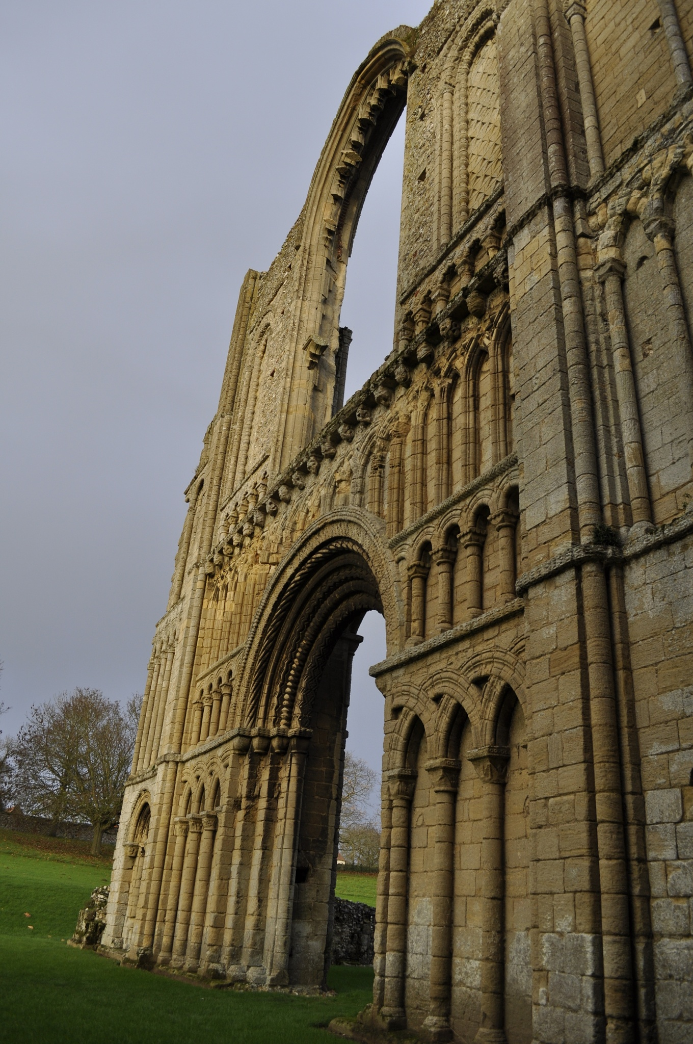 castle acre priory norfolk by Kerry Mayo