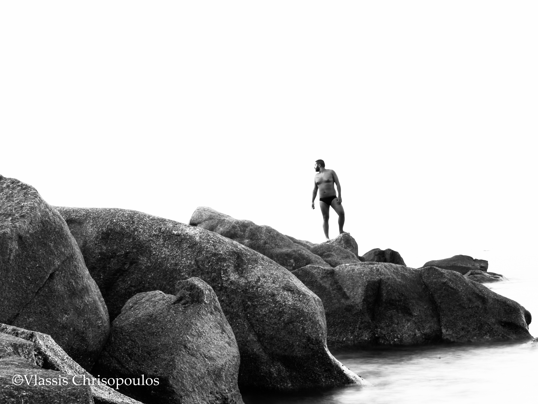 Rock man by CVphotography