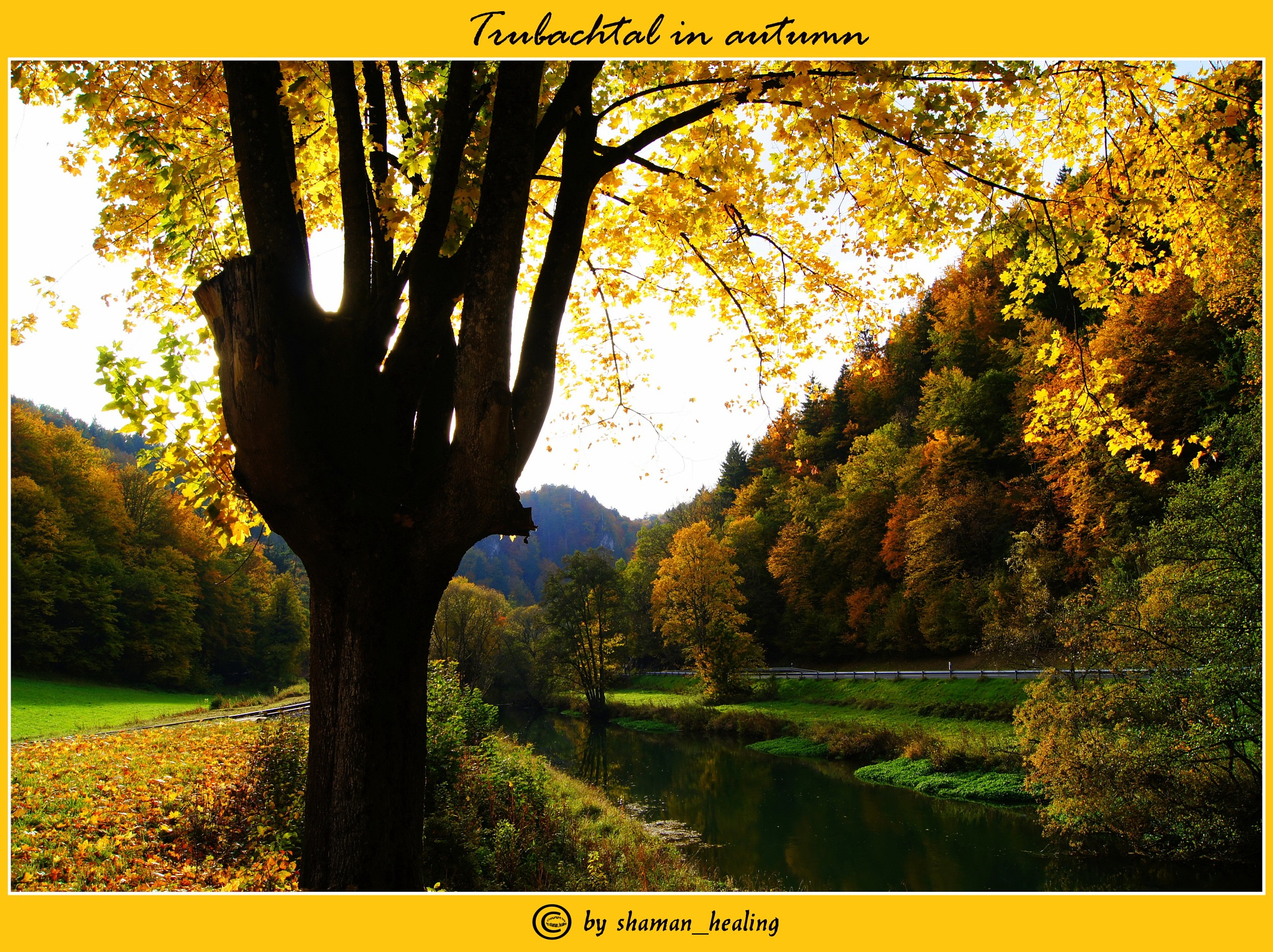 Trubachtal im Herbst/Trubachtal in autumn by shamanhealingflickr