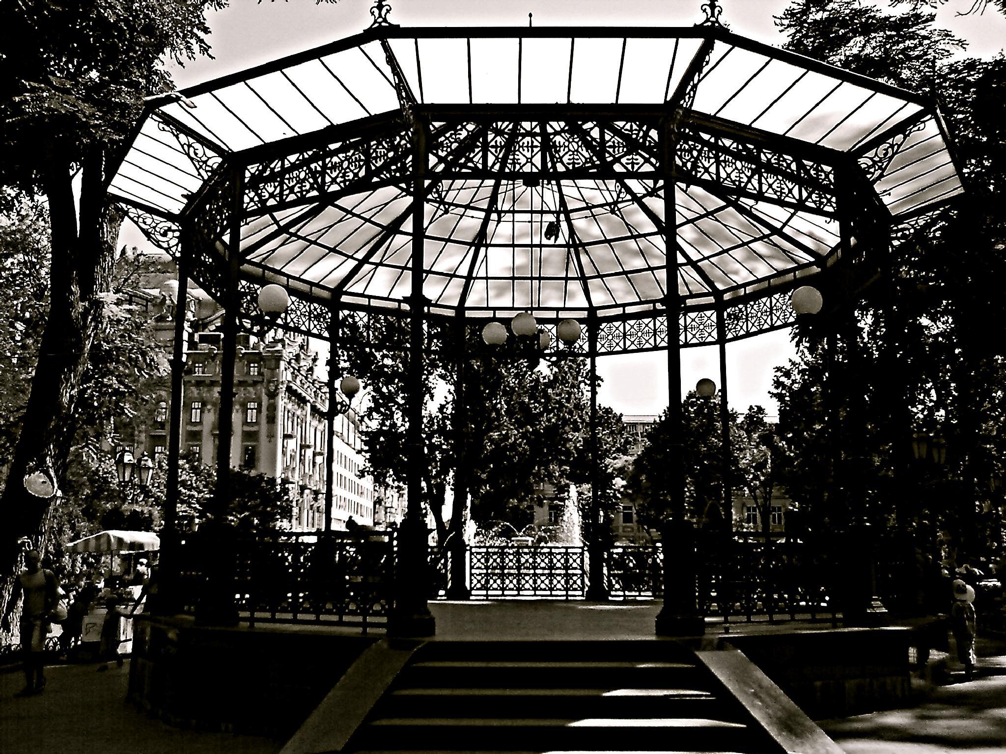 City Garden Odessa by Dmitriy Sokolov