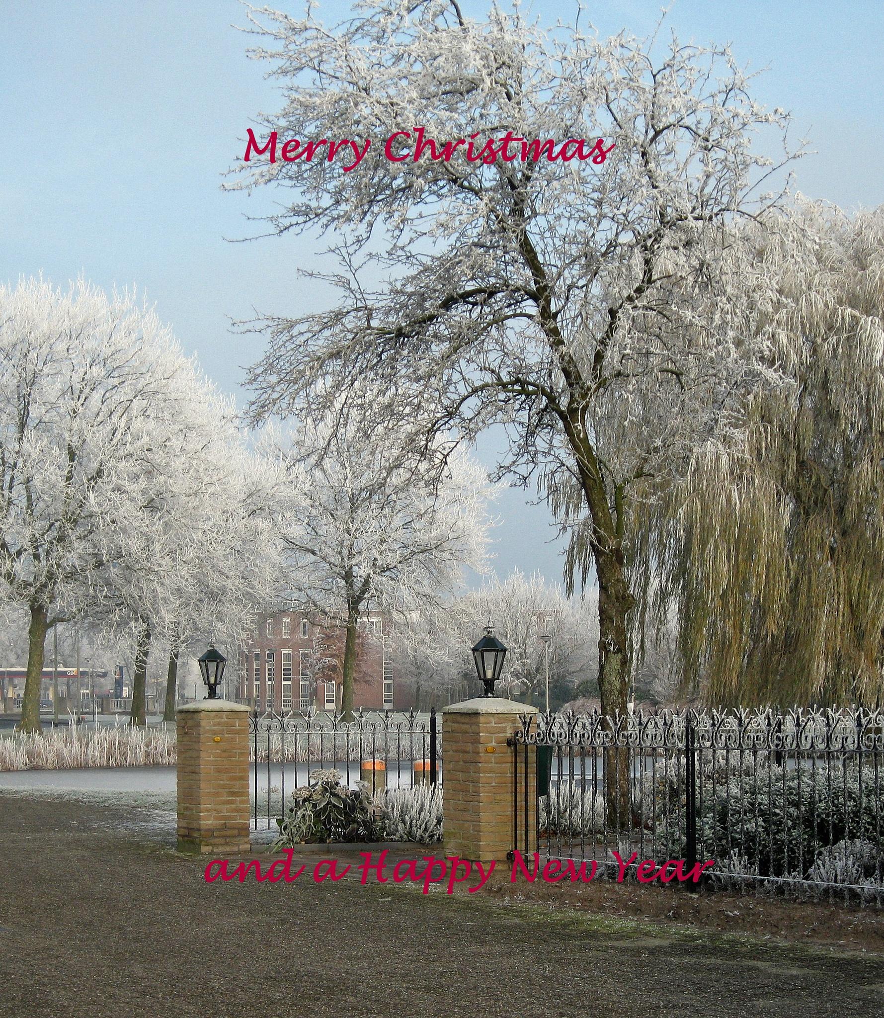 christmas carrd by Tineke Deuntje