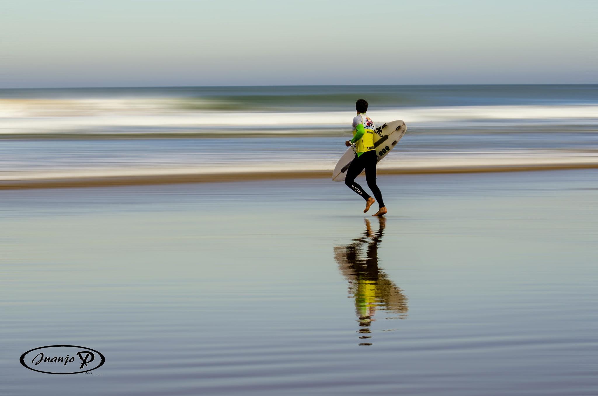 A por las olas by Juanjo Perez