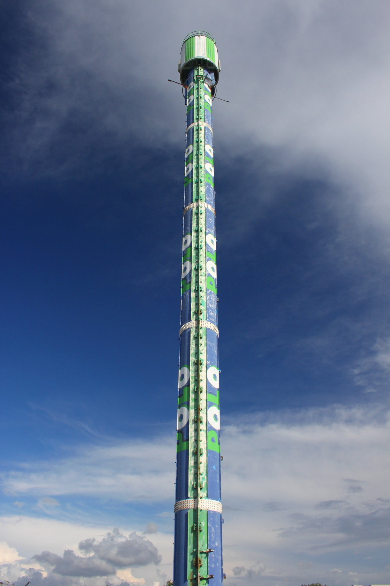 Tube tower by Phil Downie