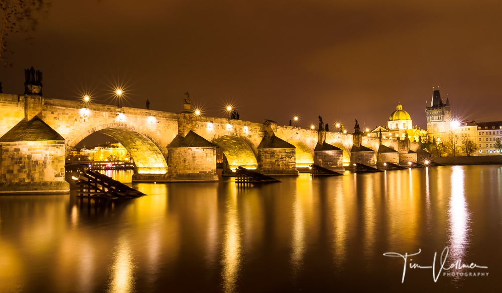 Magical Prague at night :-)  by Tim Vollmer
