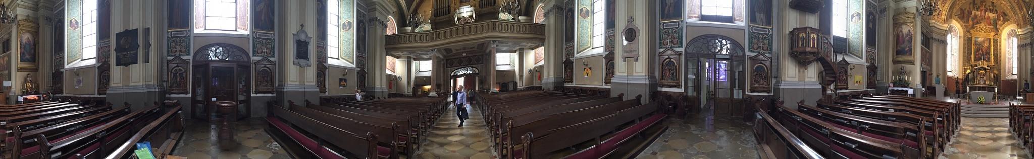 360° church Bad Ischl by Douwe Hoekstra