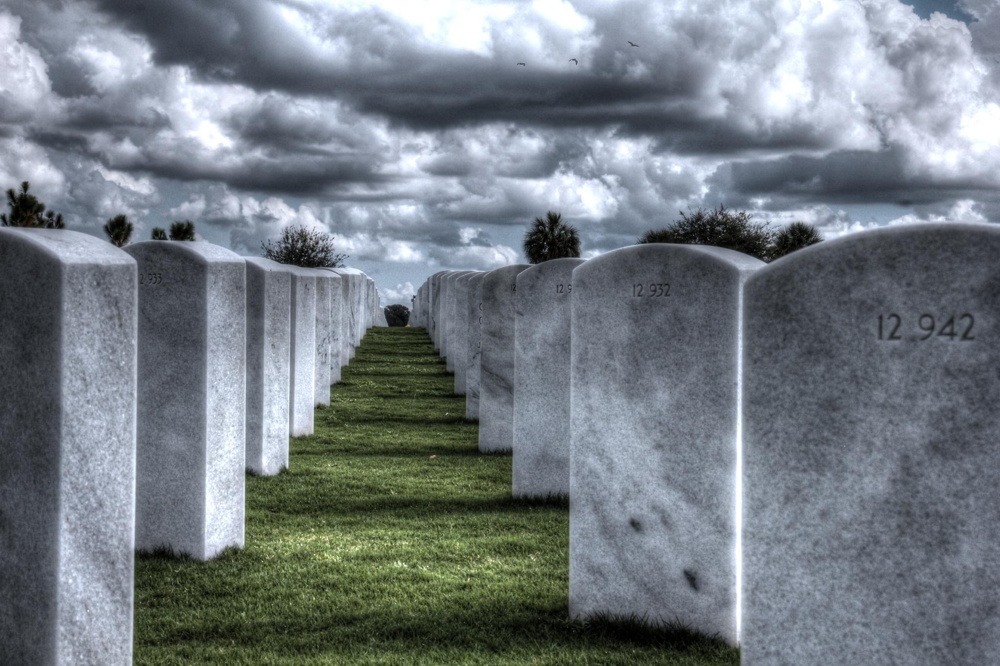 Surreal Graveyard by Tcko