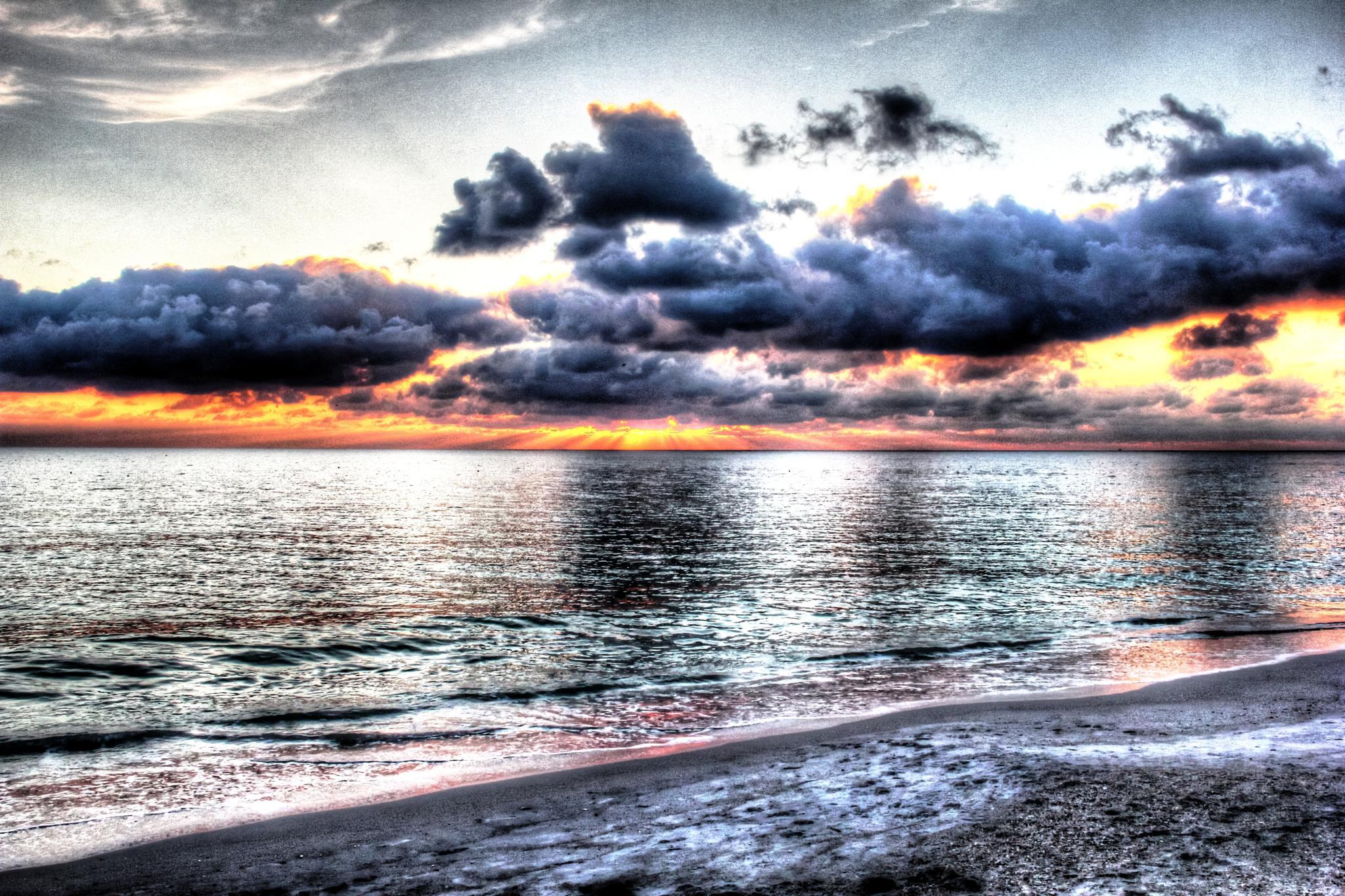 At the Beach by Tcko