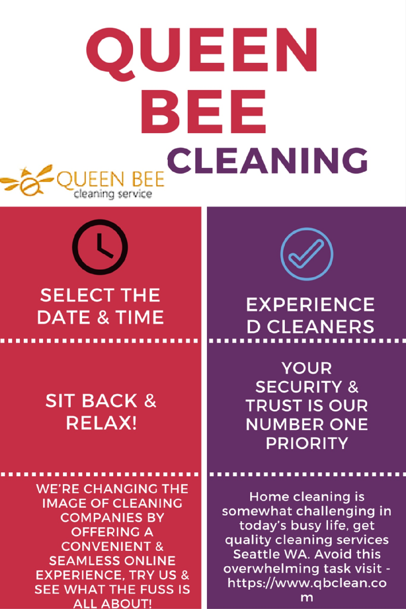 How to get budget cleaning services in Seattle WA by qbclean0