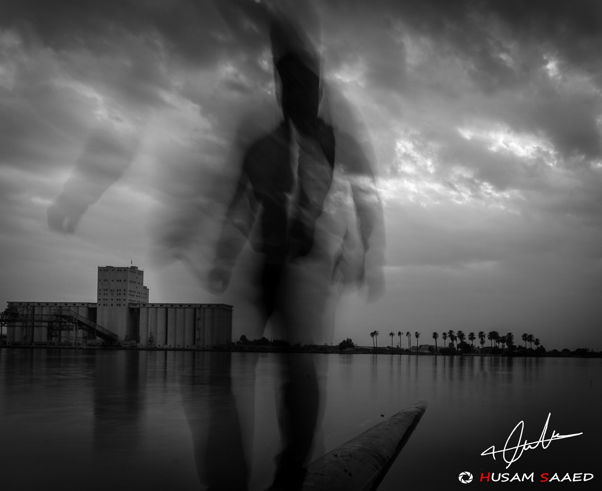 Ghost Man by husamsaaed