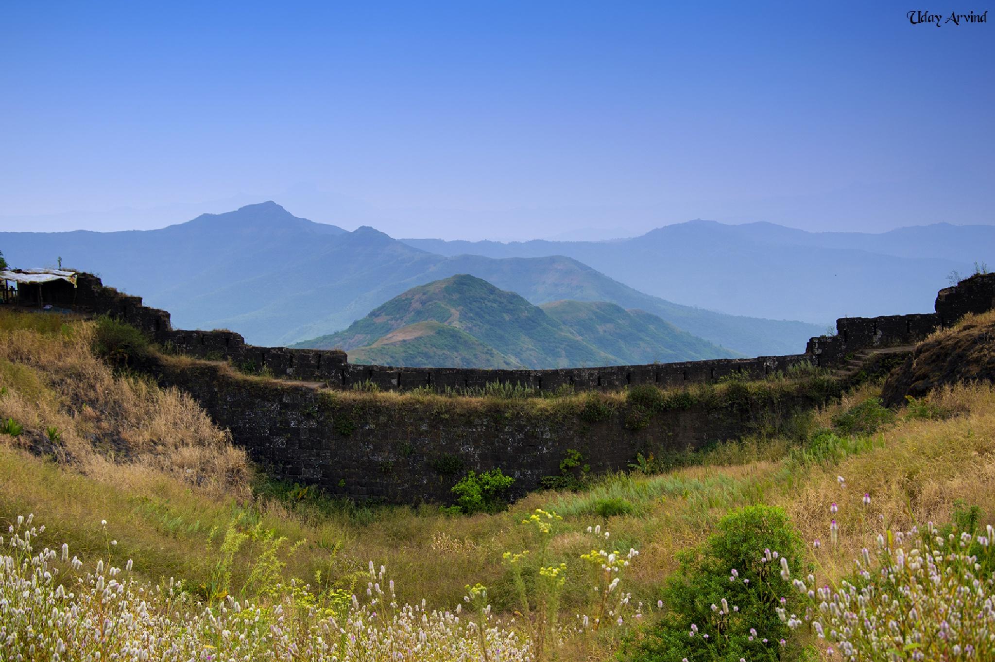 Sinhagad  Valley by UdayKoundinye