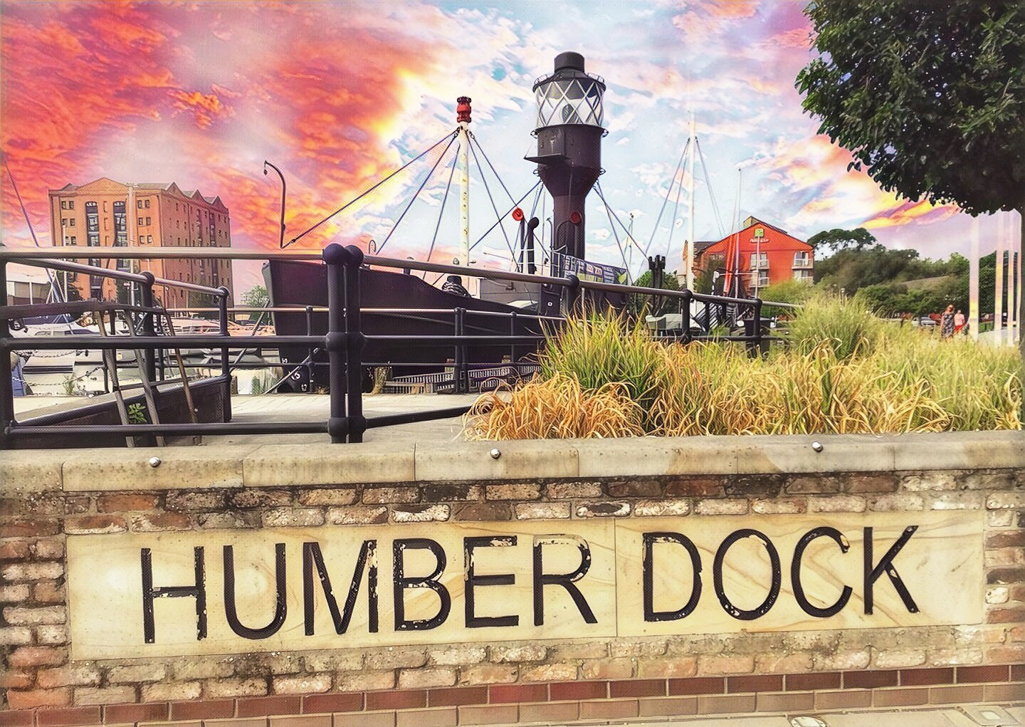 Humber dock  by uniqueimagesofhull