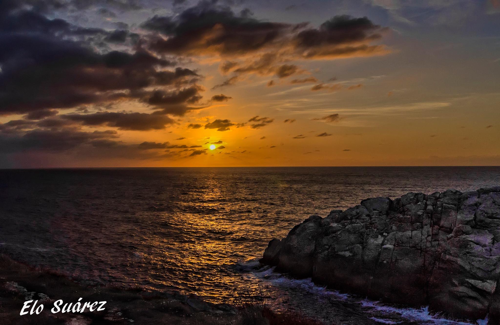 Puesta de sol by Elo Suárez