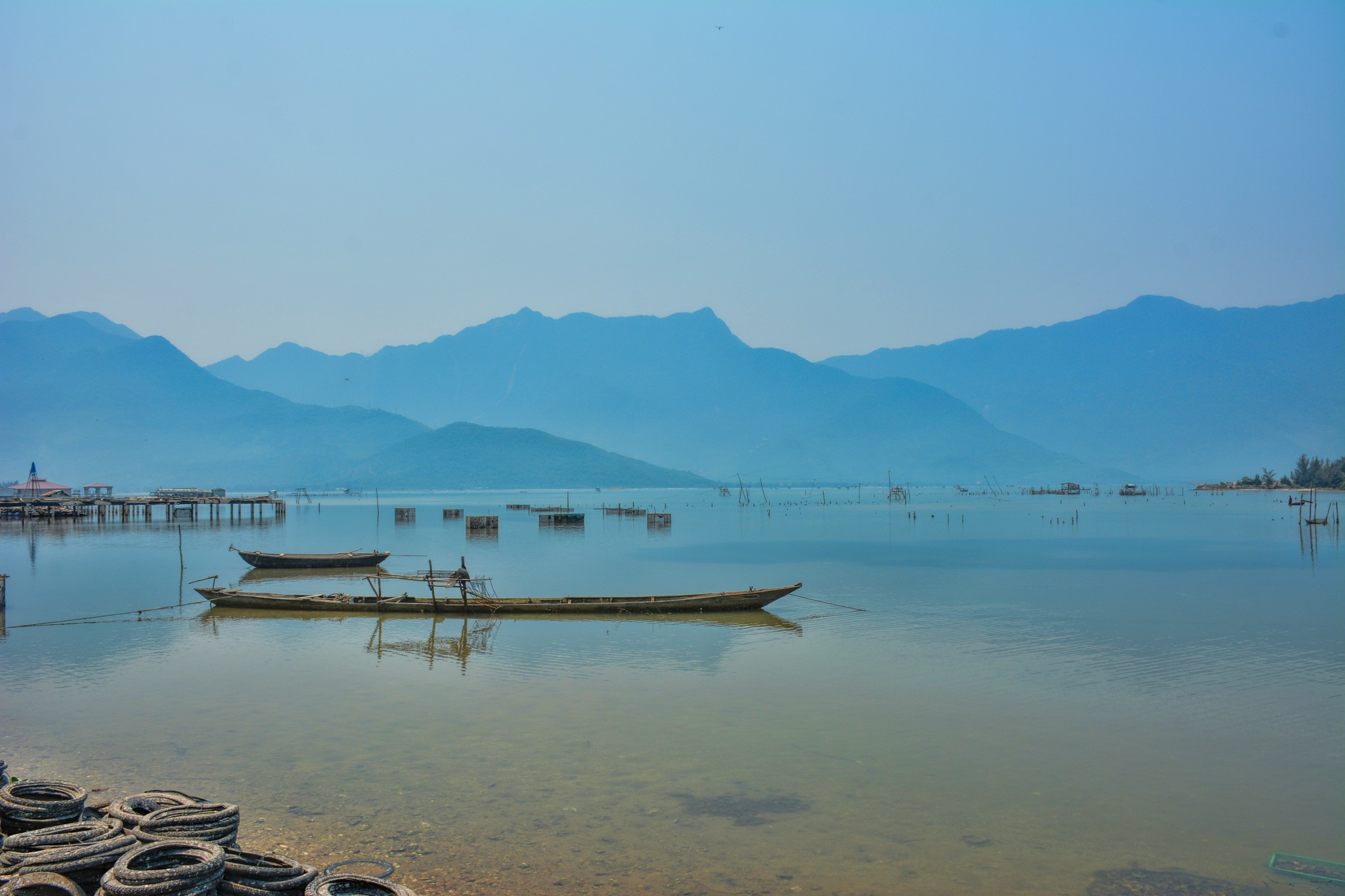 Fishing Village by Garry Evans