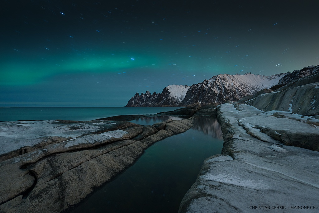 arctic night by Christian Gehrig