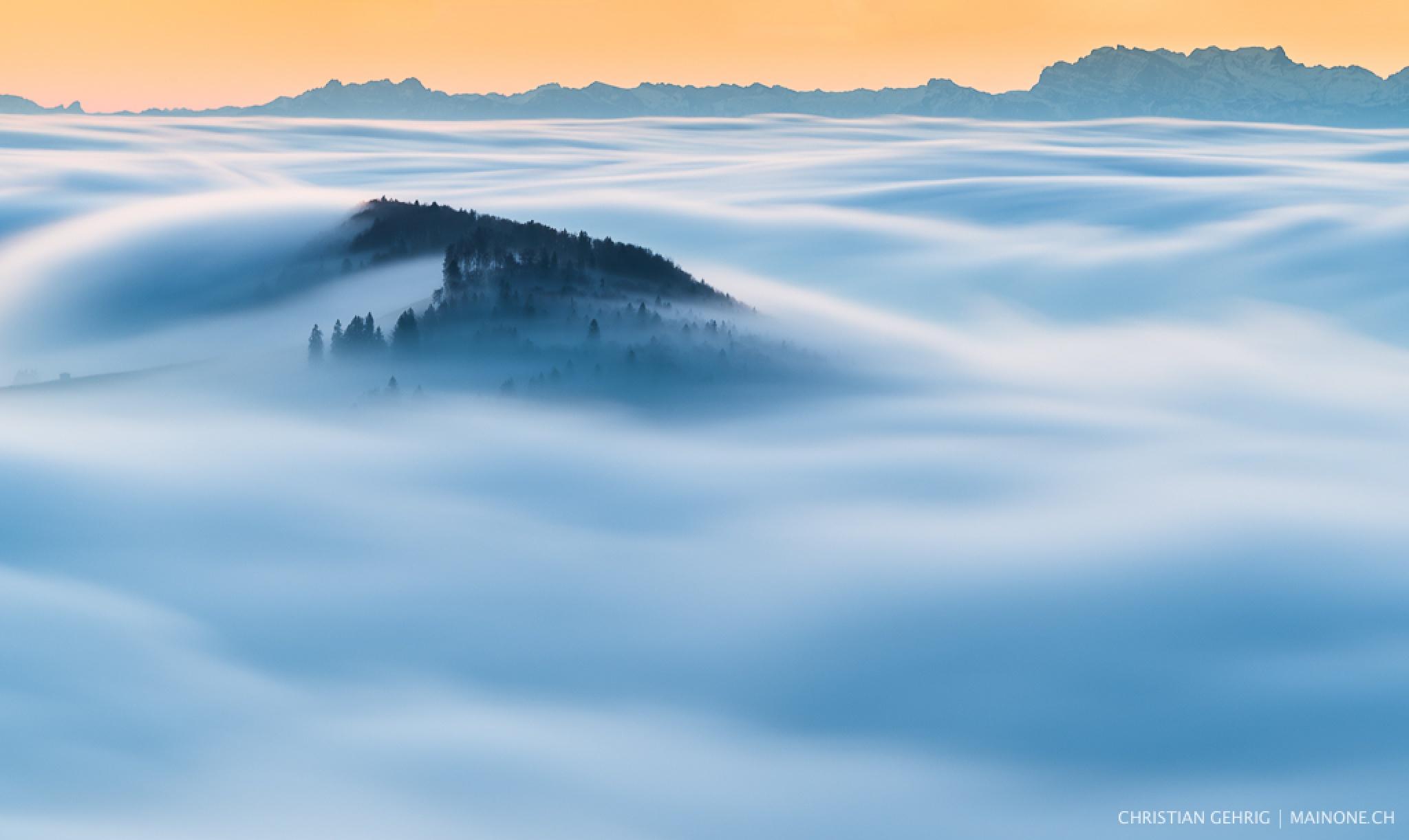 floating fog by Christian Gehrig