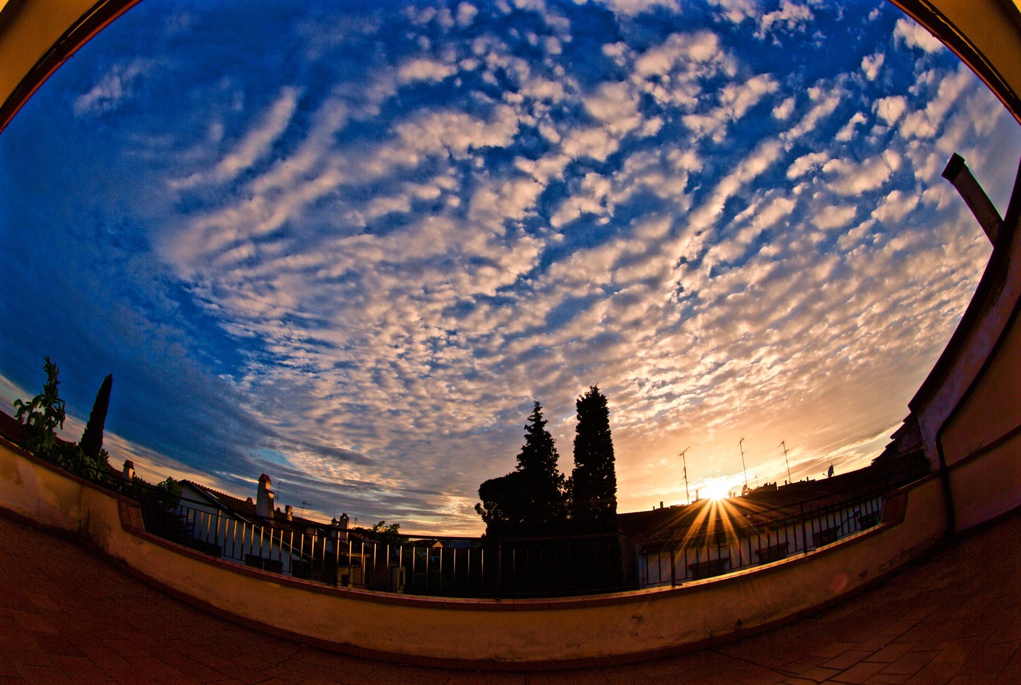 Pure sunset by Fabrizio Reali