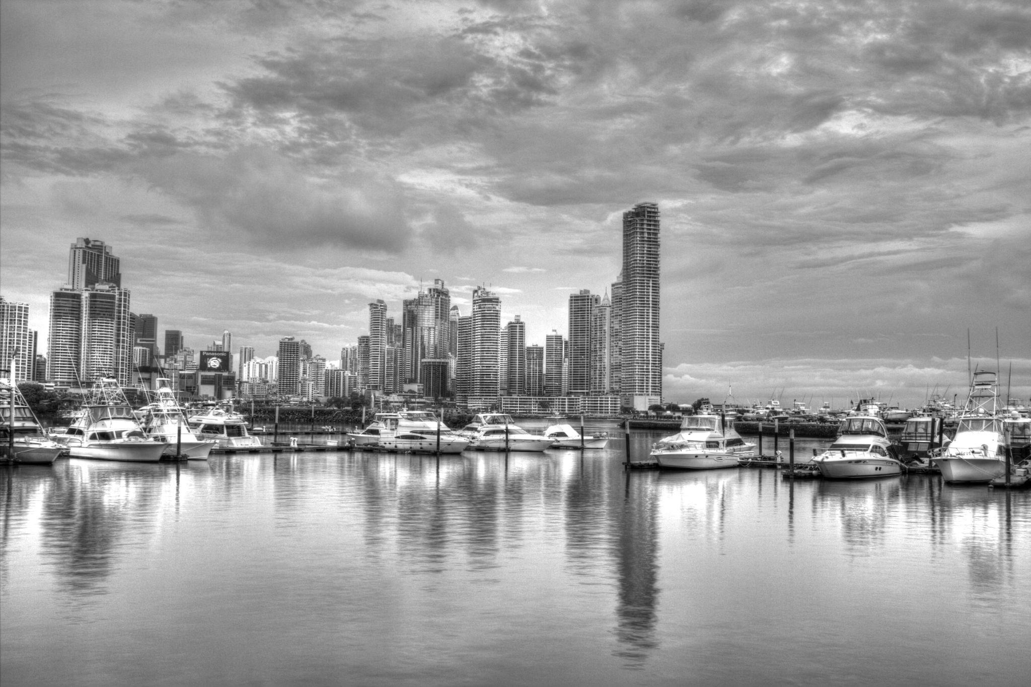 Yachts in the bay by DavidJPhoto