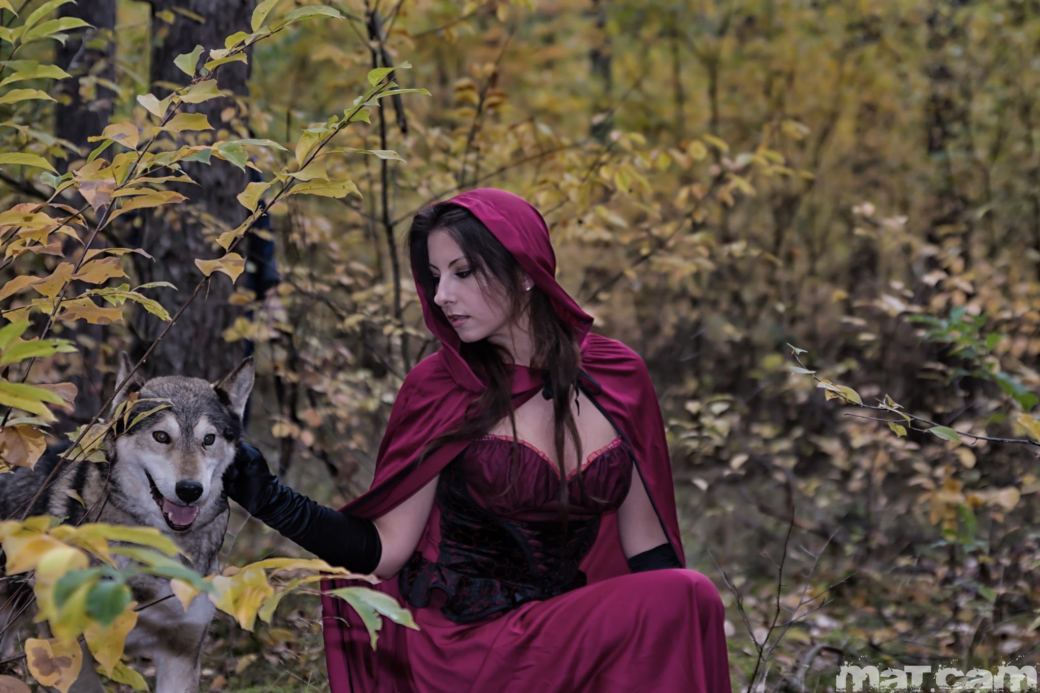 Rotkäppchen und der Wolf by MATcam
