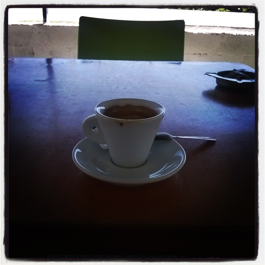 My daily dose of coffee by dritan