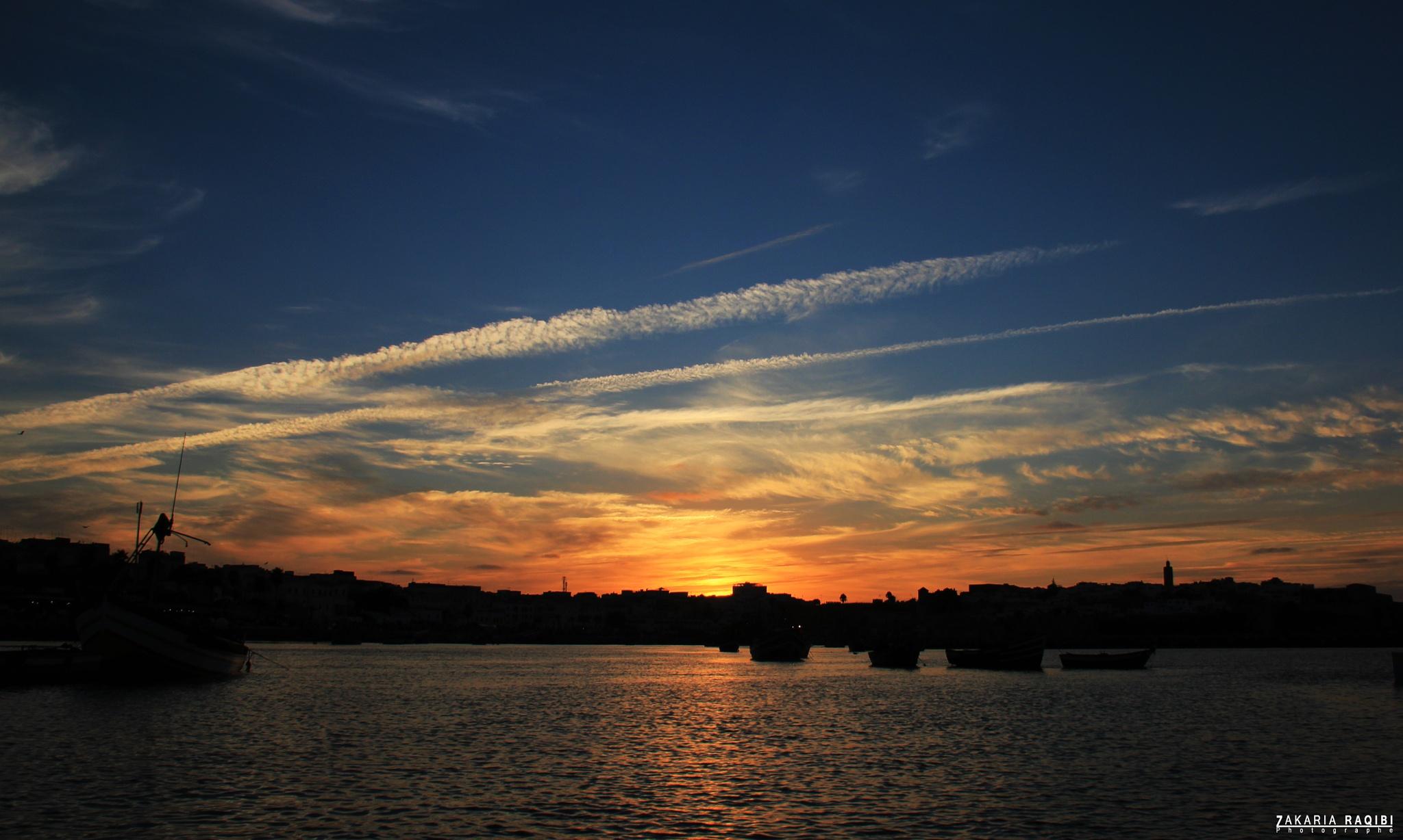 Sunset by ZAKARIA RAQIBI