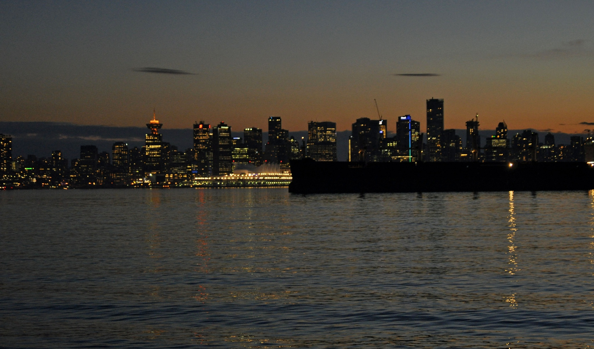 A Vancouver Evening by Daverr