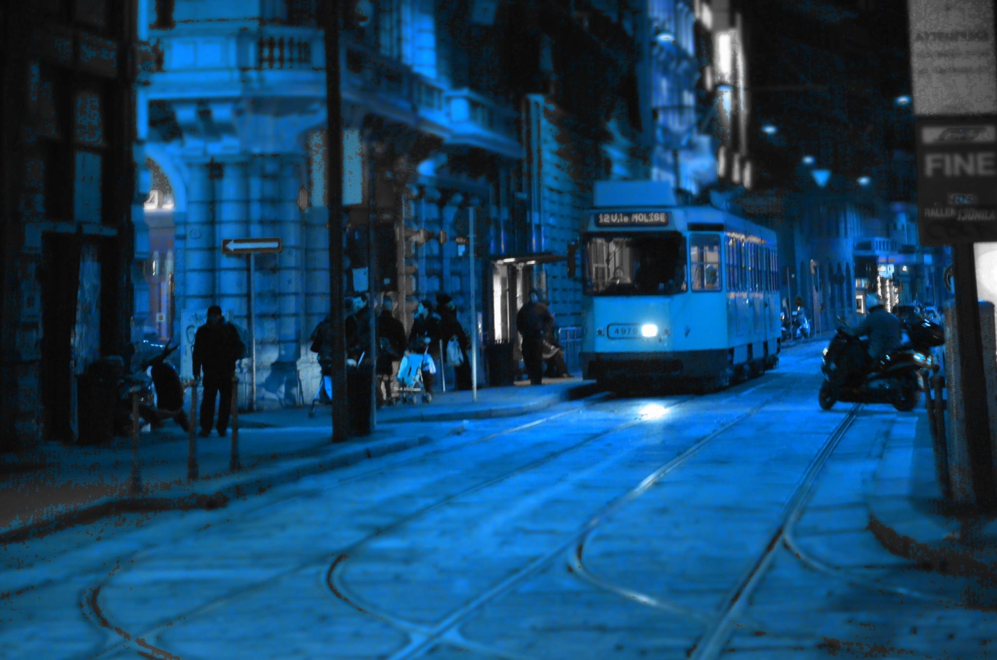 A street in Milan by monicarla