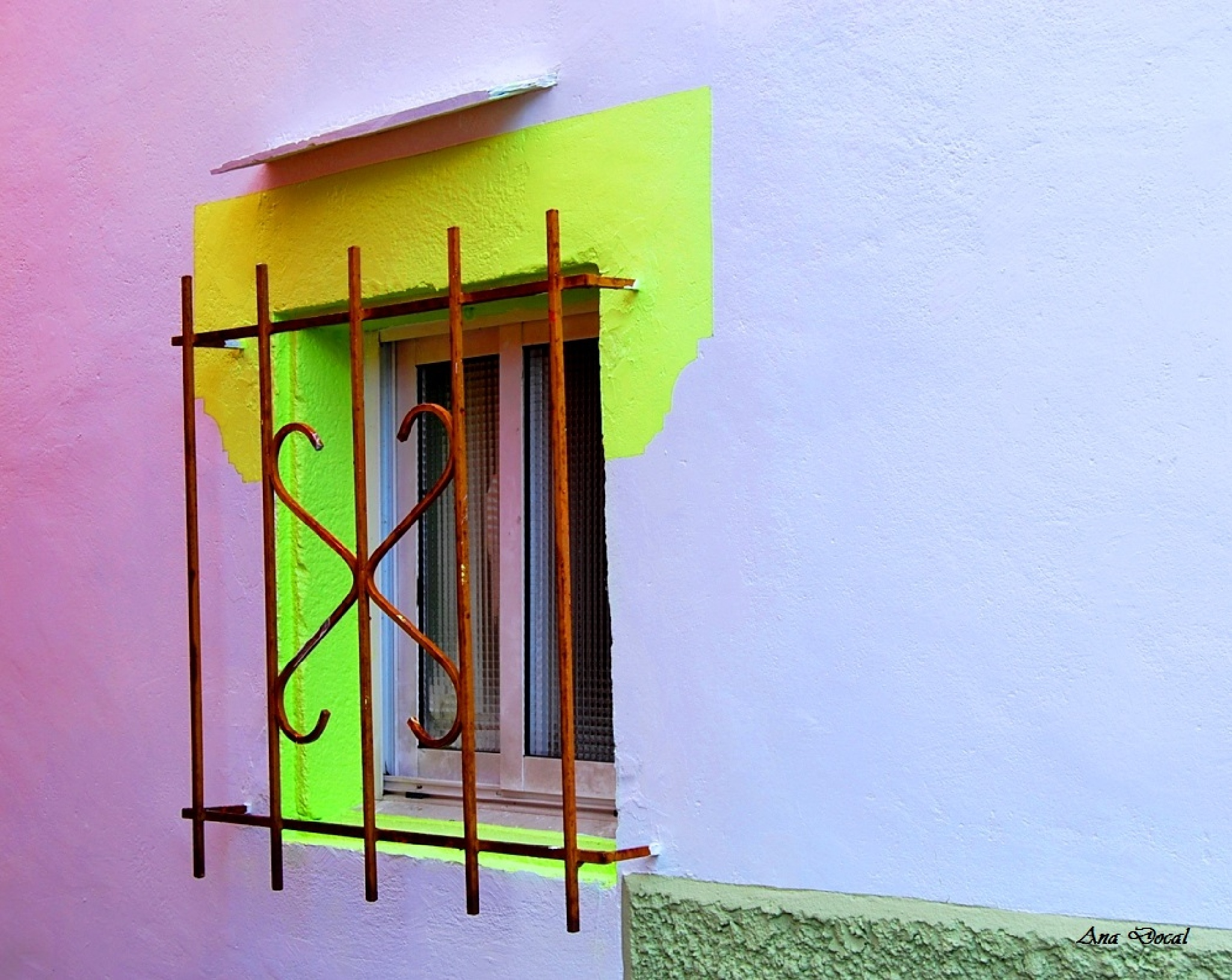 Multicolor window........... by Ana Docal