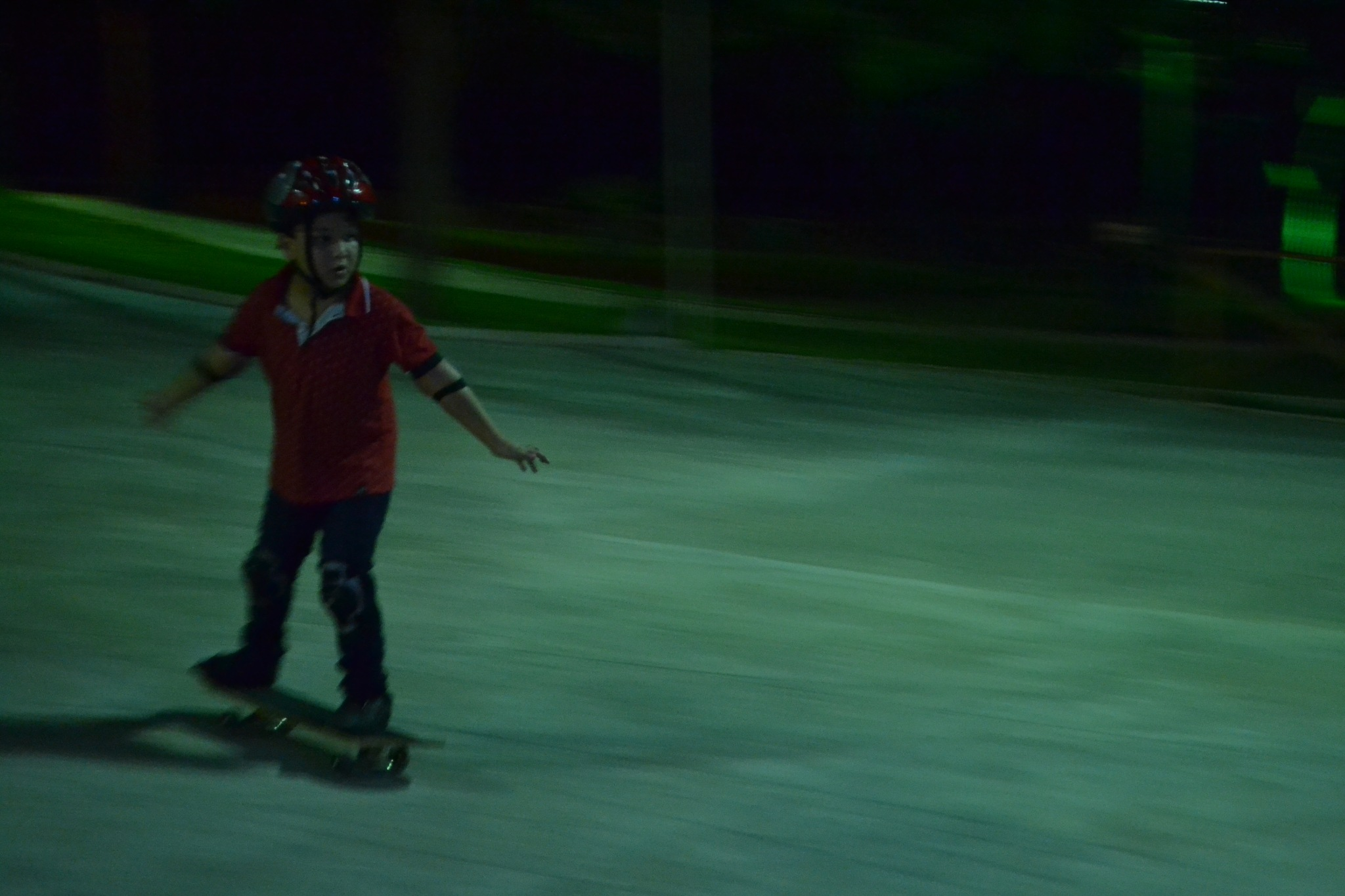 The high speed skater boy by Alexandro Lima