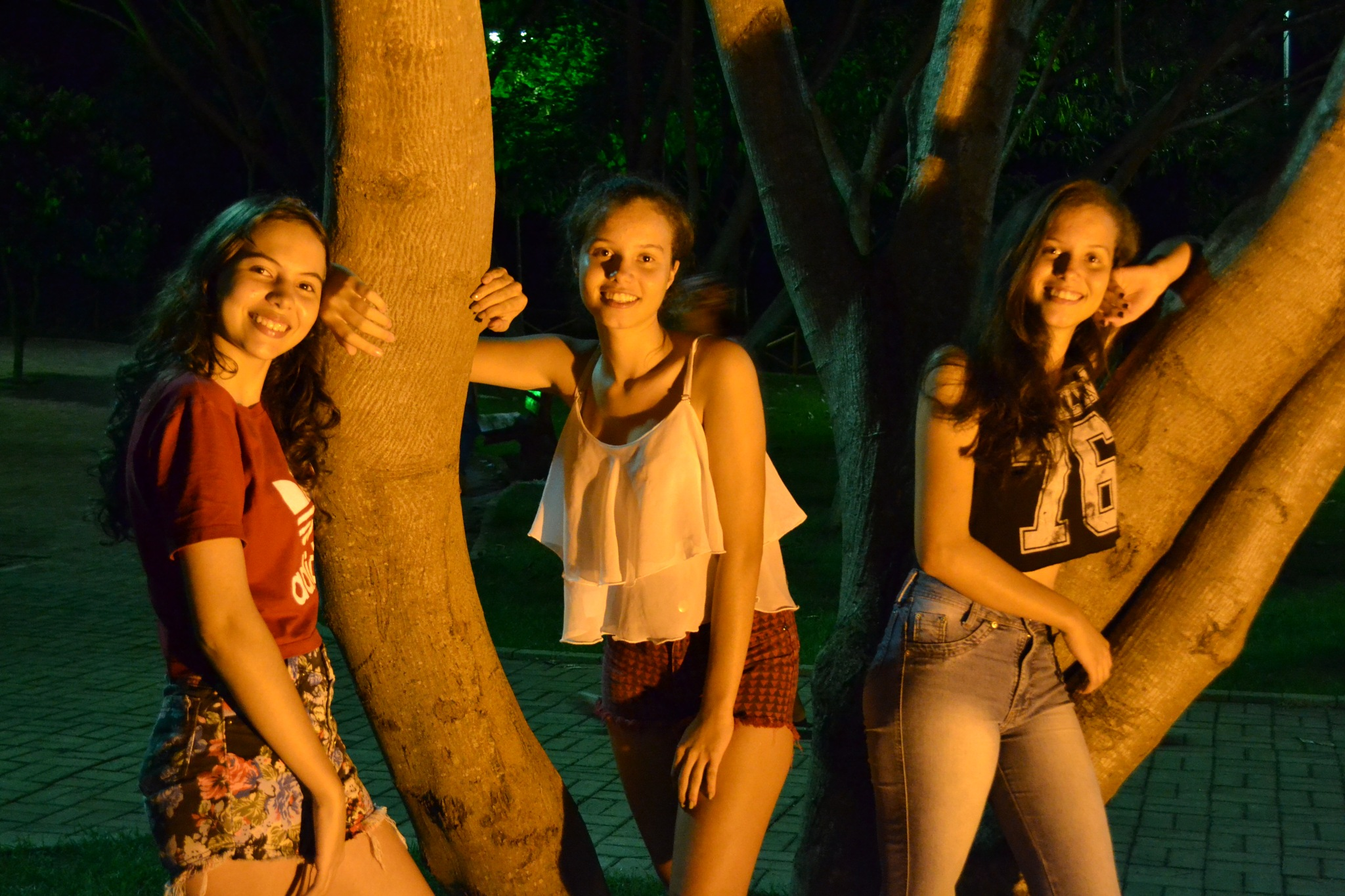 My 3 young models by Alexandro Lima