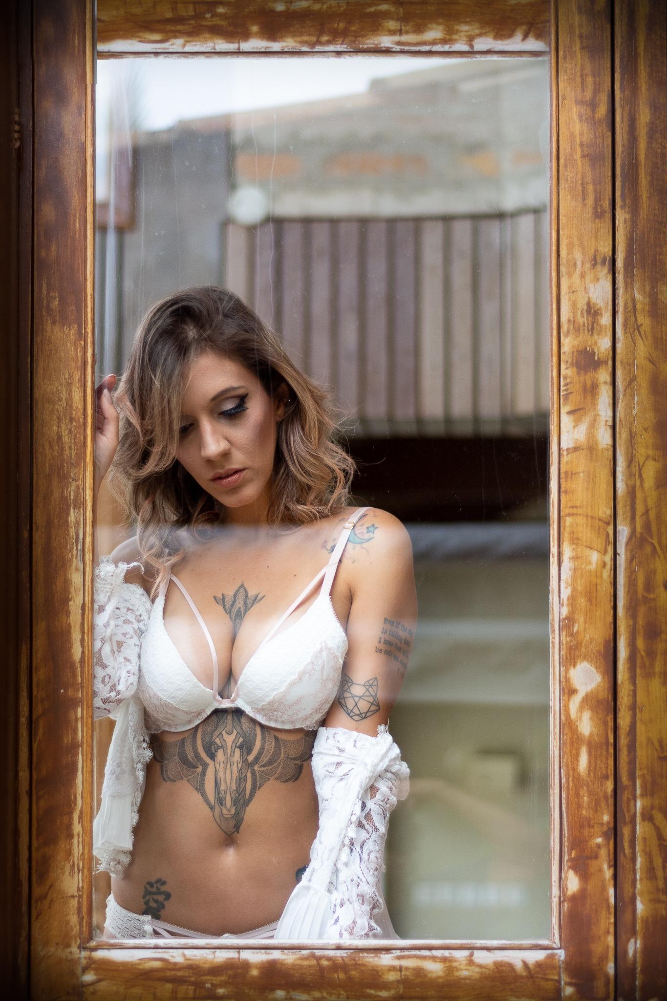 Photo in Random #window #janela #sensual #lingerie