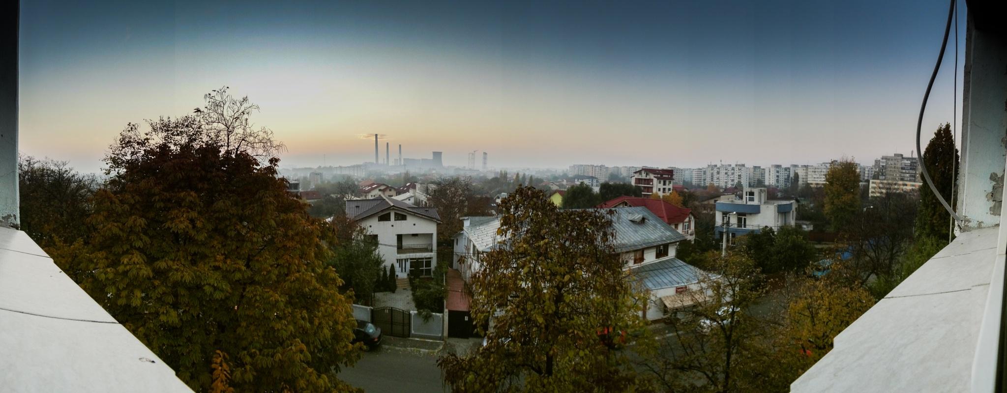 Bucharest   Panorama by Bogdan Birleanu