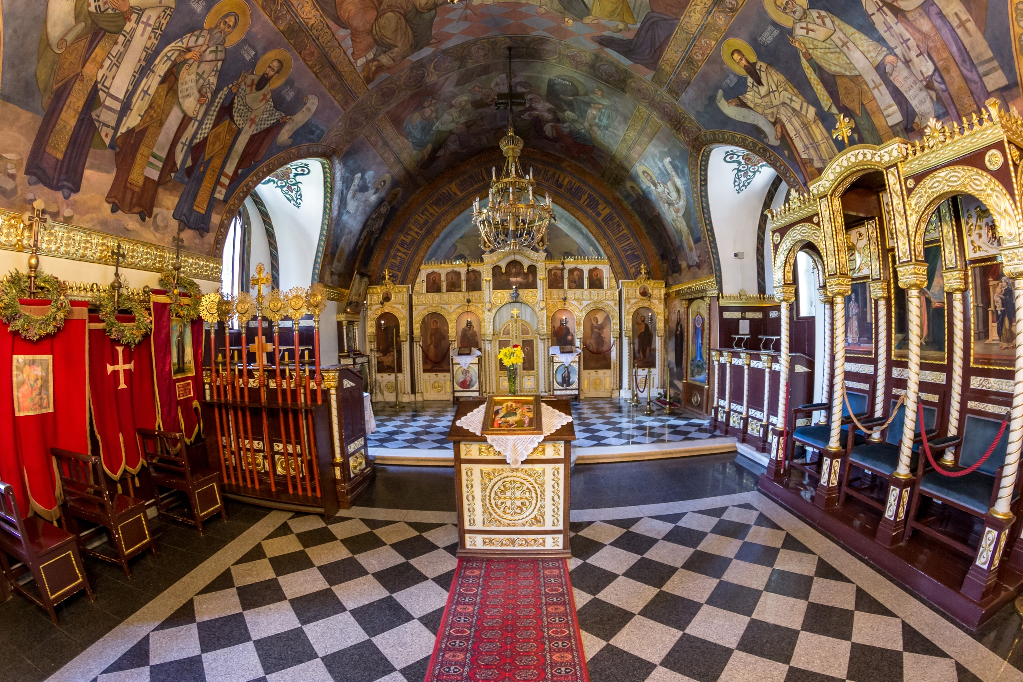 Inside the Church of the Holy Mother of God (Ruzica church) by JaksaFoto