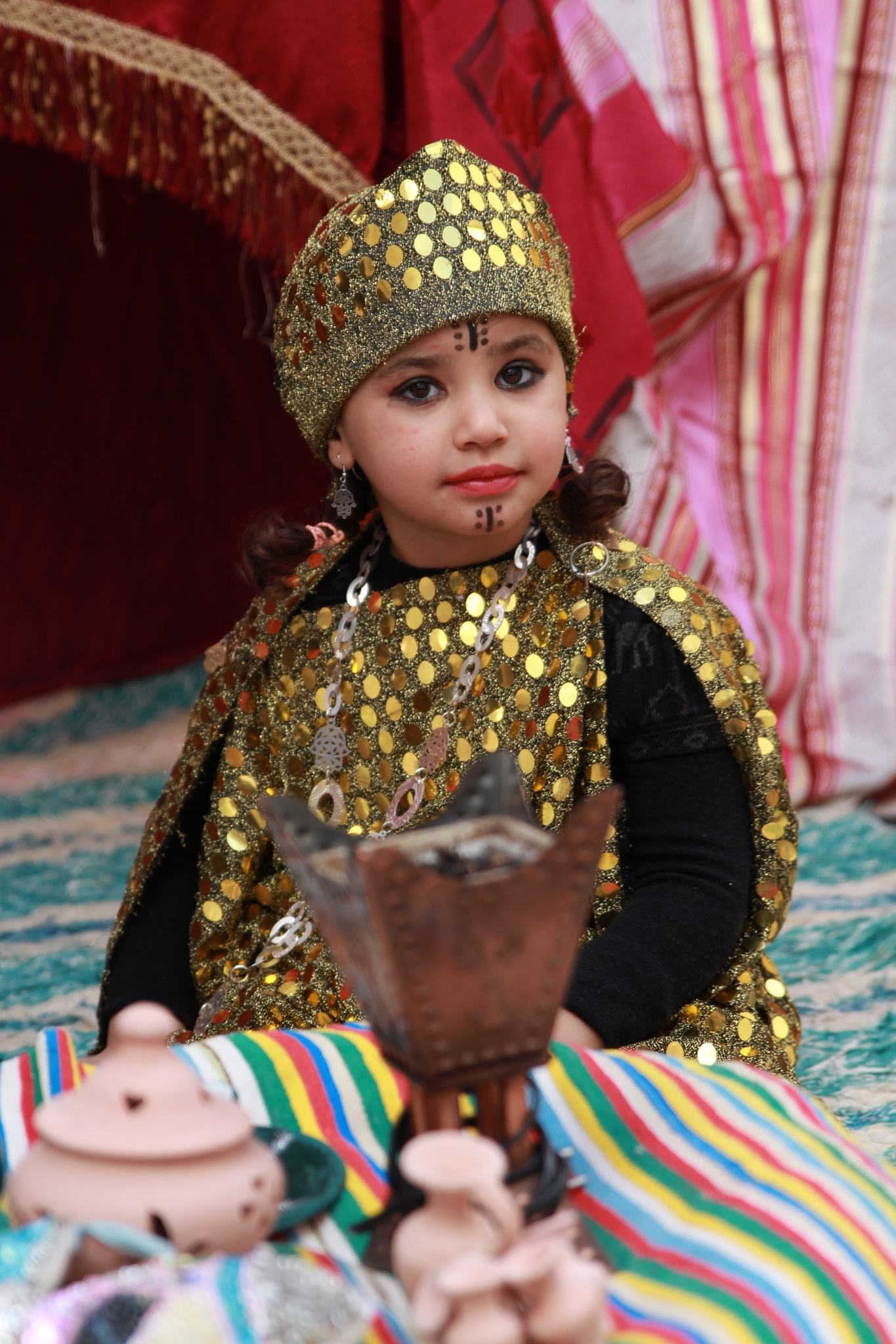 Traditional Dress of Tunisia by Mouelhi Badie