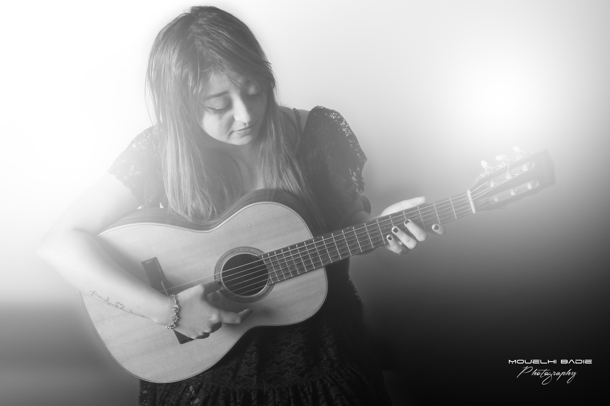 sad guitar by Mouelhi Badie