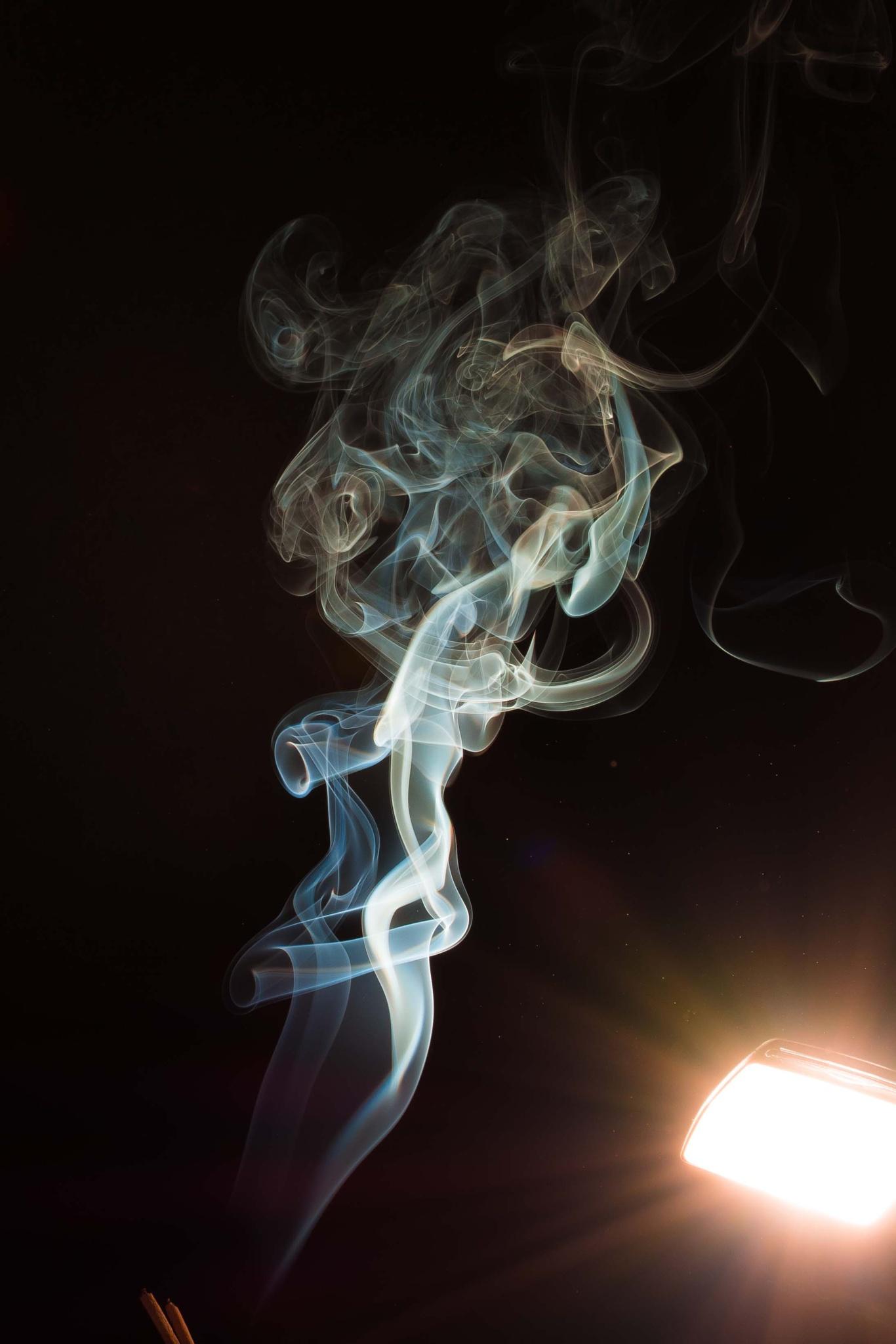 smoke by Nezar Abudari
