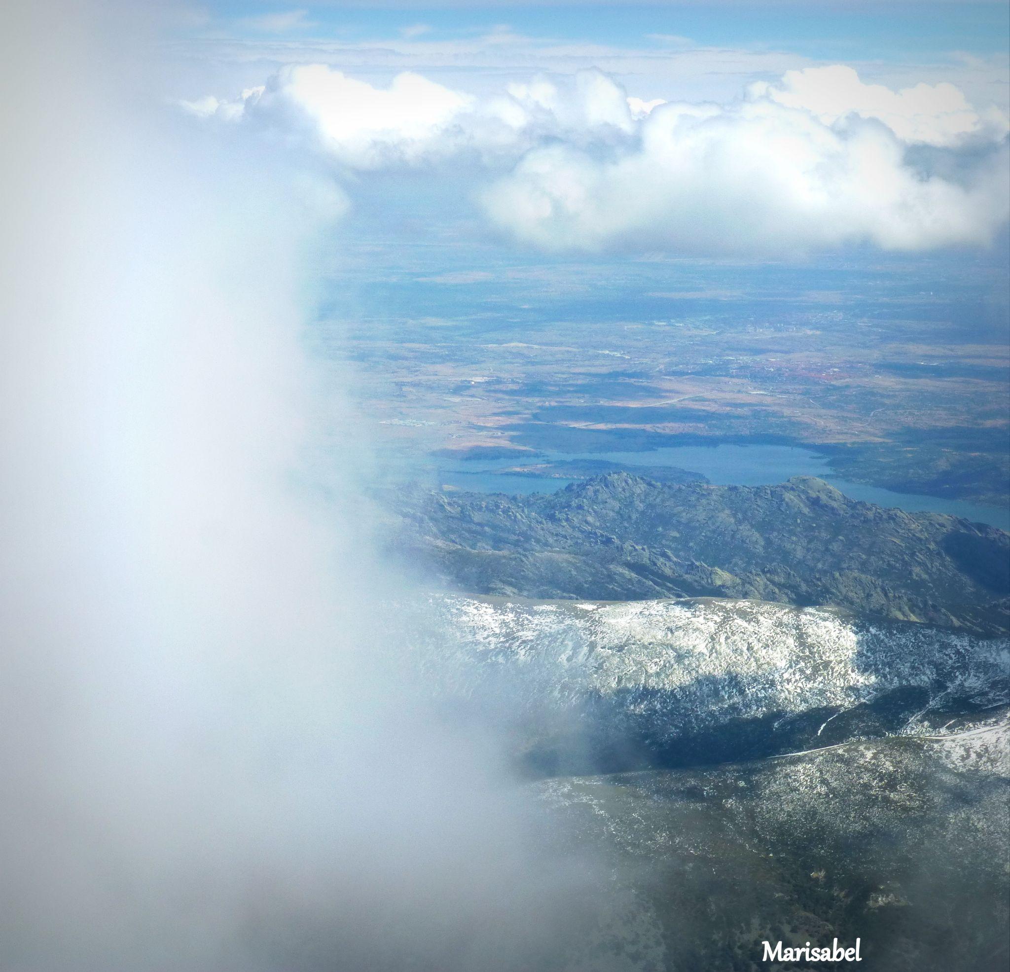 Entre el cielo y la tierra , hermoso momento. by marisabelcaferri