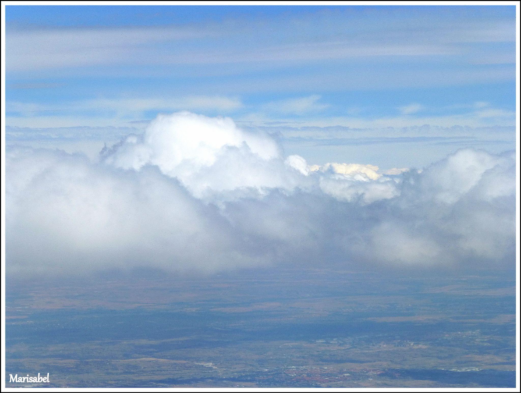 Dede las nubes .. fascinante ! by marisabelcaferri