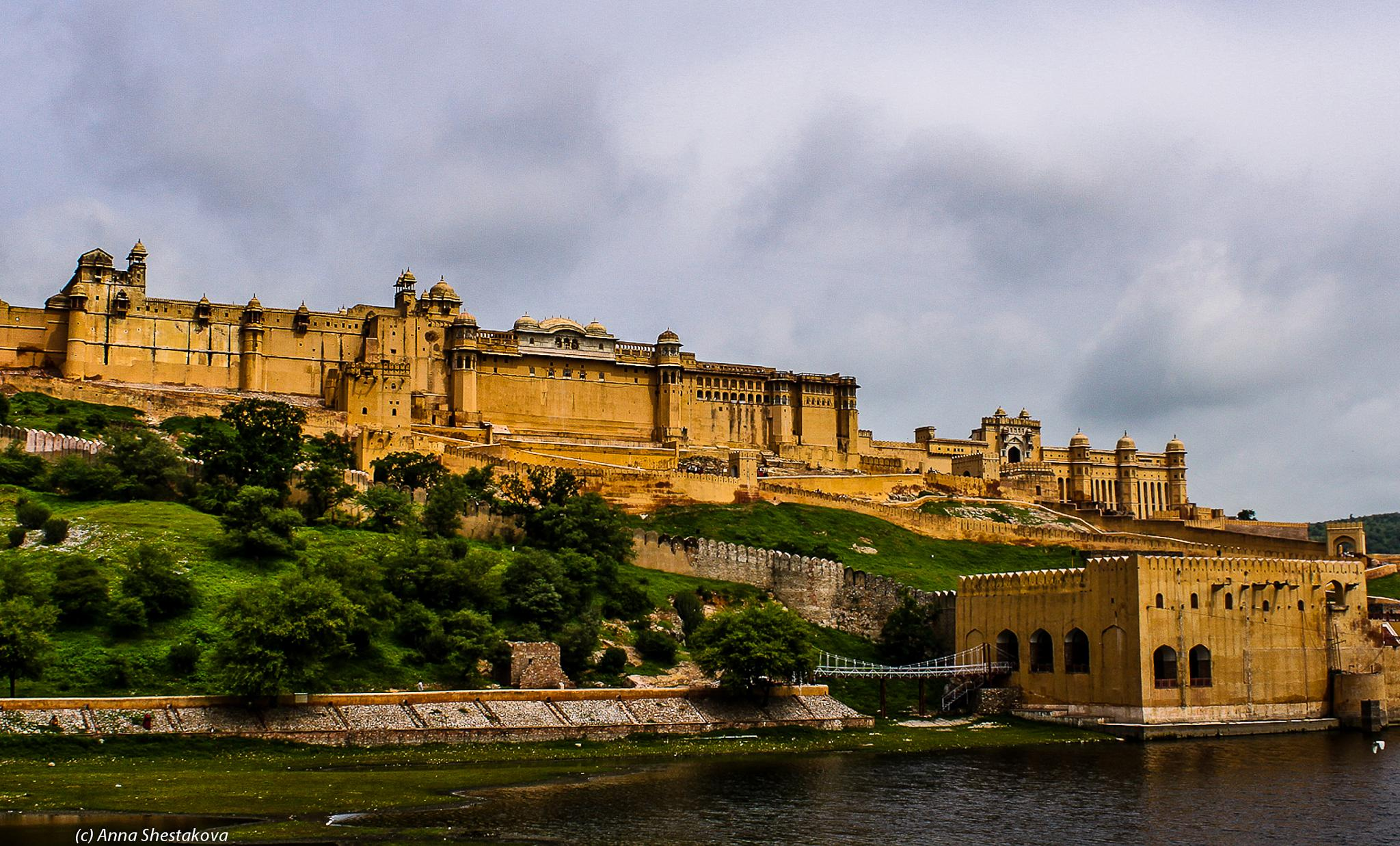 Amber Fort. by Anna Shestakova
