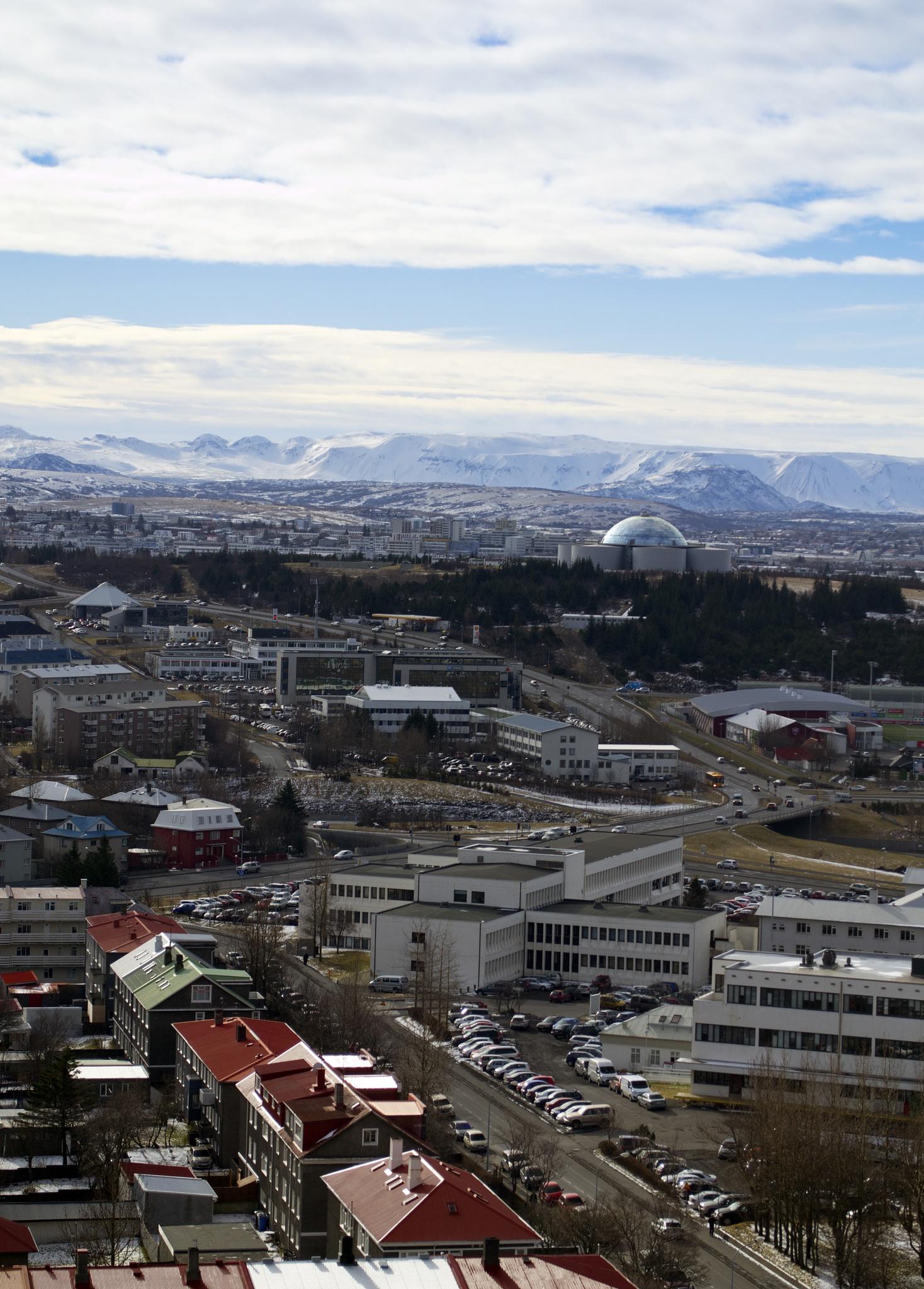 Reykjavík by MarieJirousek
