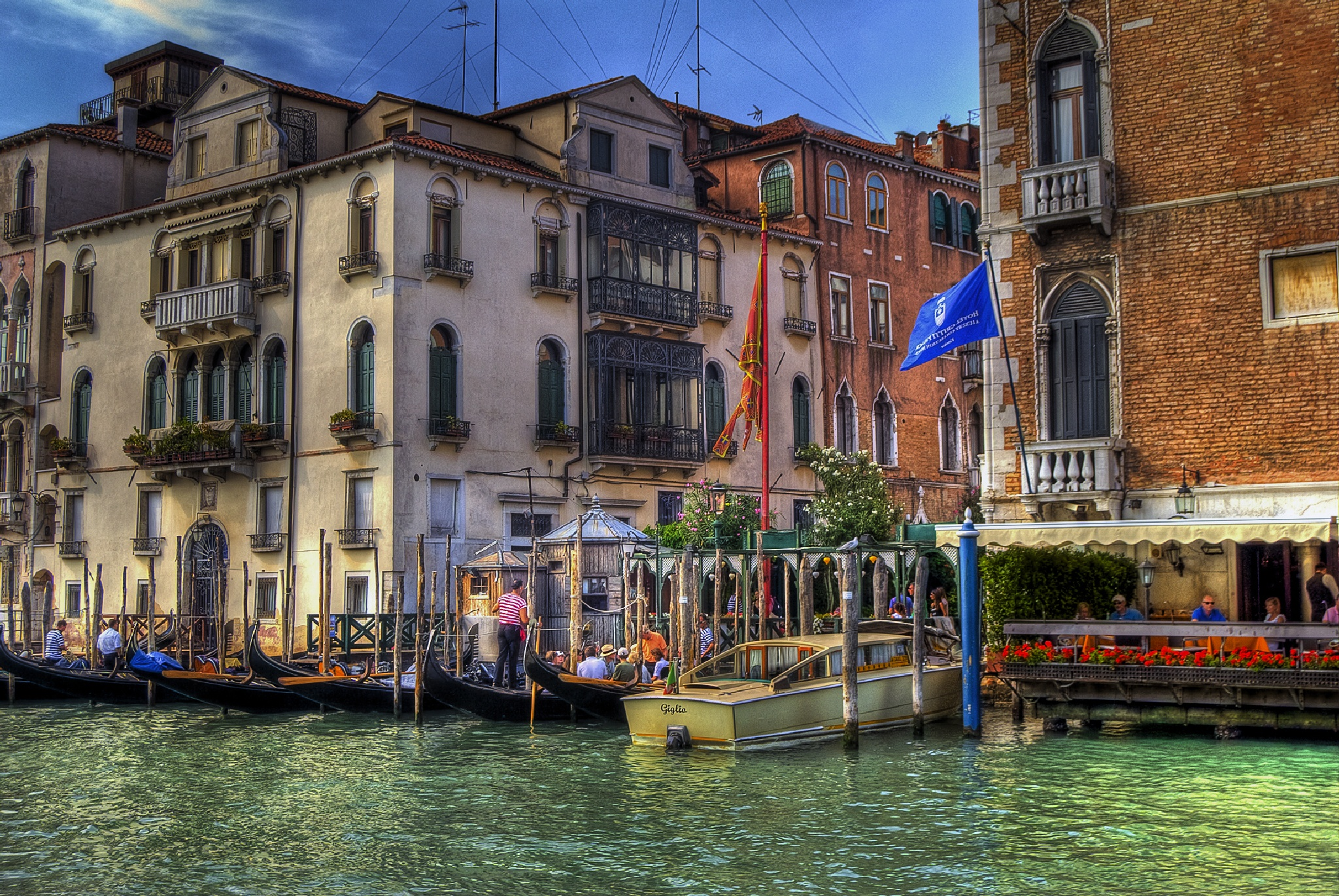 Venice Grand Canal by MarieJirousek