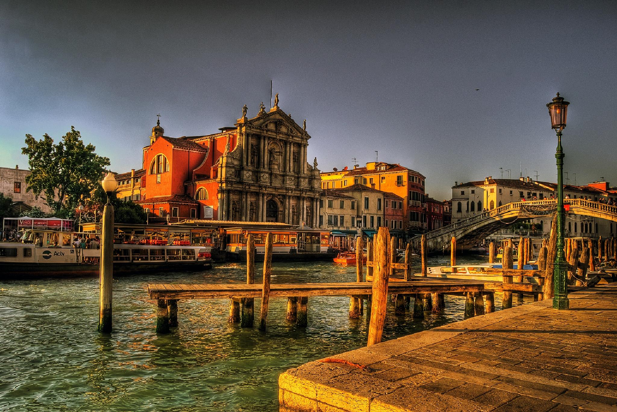 Venice Grand Canal by MarieJirousek